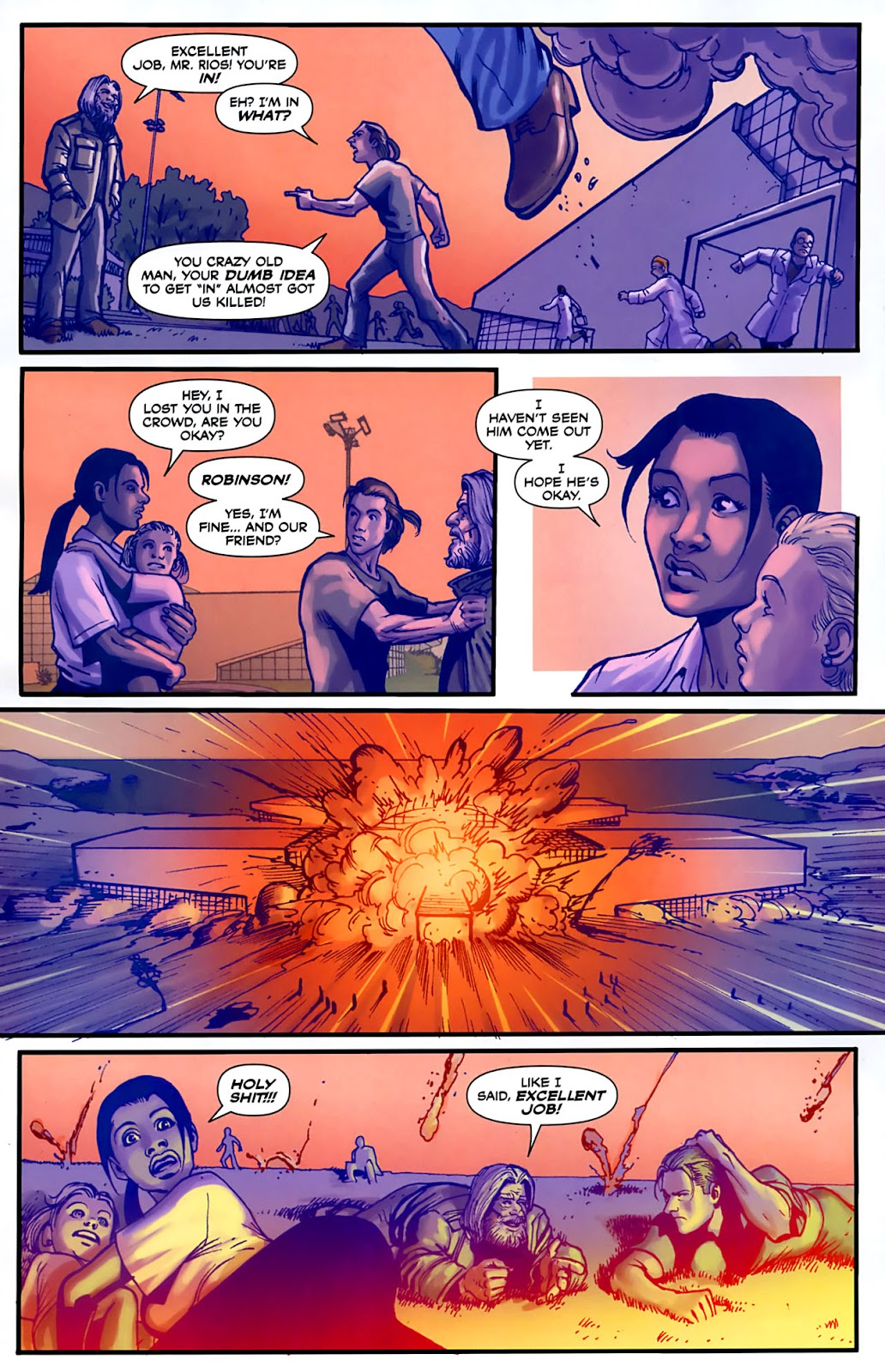 Read online Lazarus (2007) comic -  Issue #3 - 22