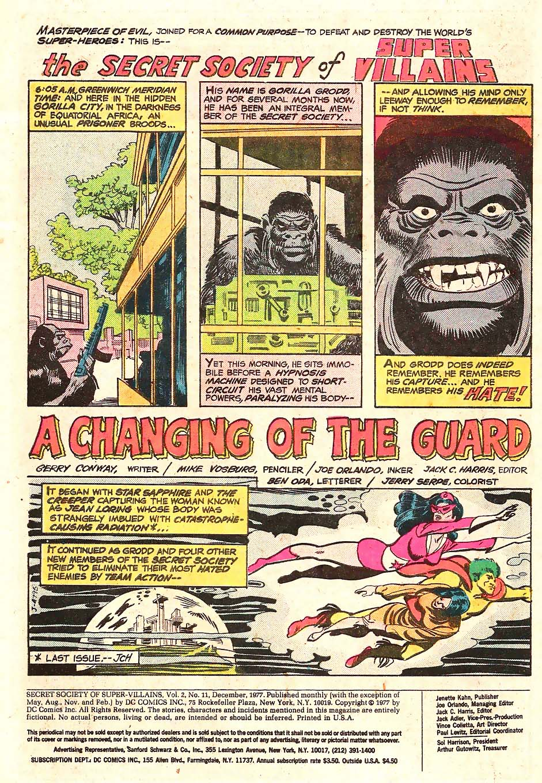 Read online Secret Society of Super-Villains comic -  Issue #11 - 2