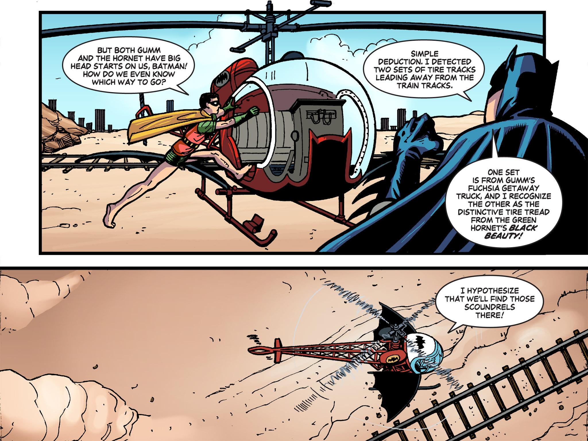Read online Batman '66 Meets the Green Hornet [II] comic -  Issue #4 - 37