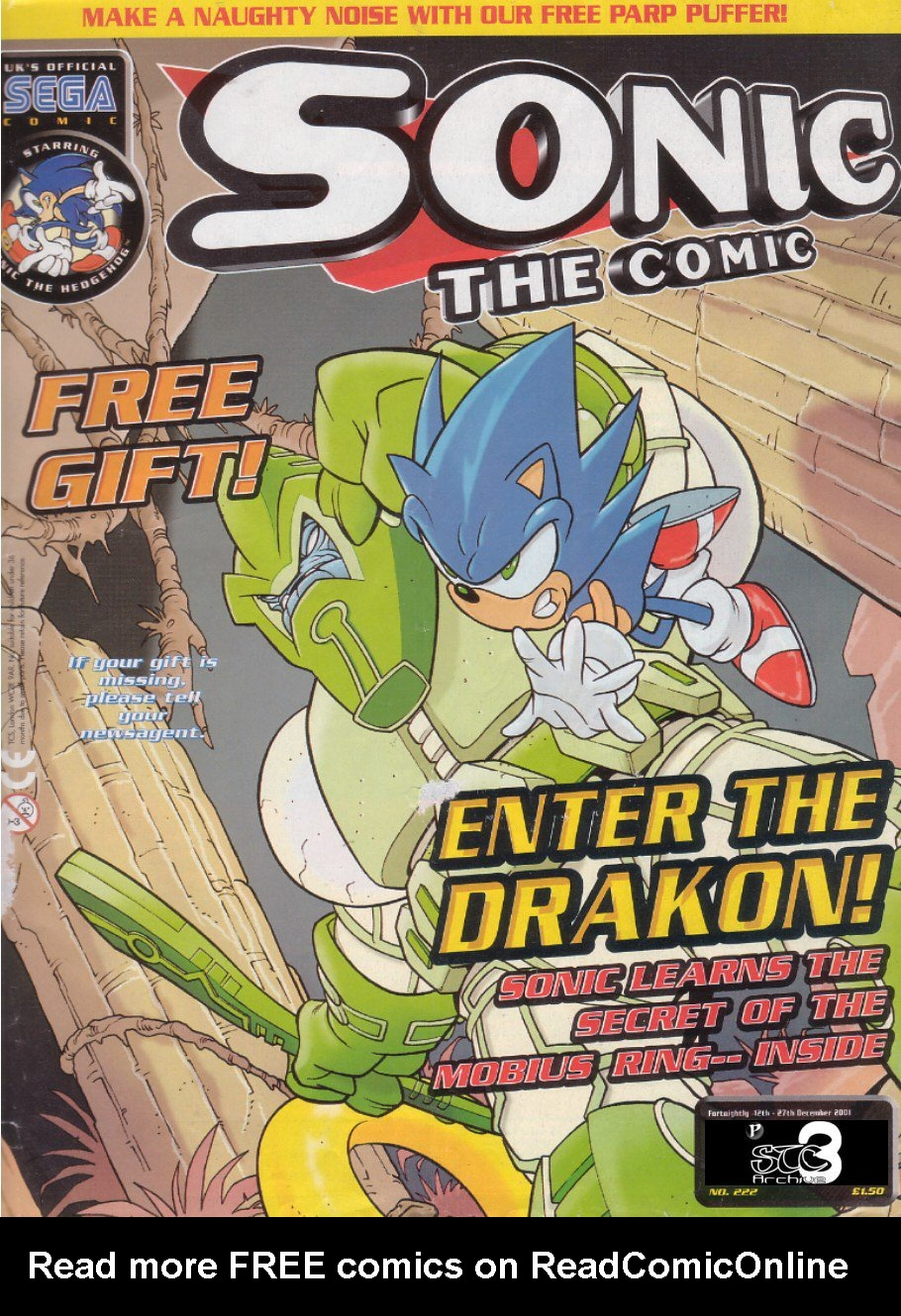 Read online Sonic the Comic comic -  Issue #222 - 1
