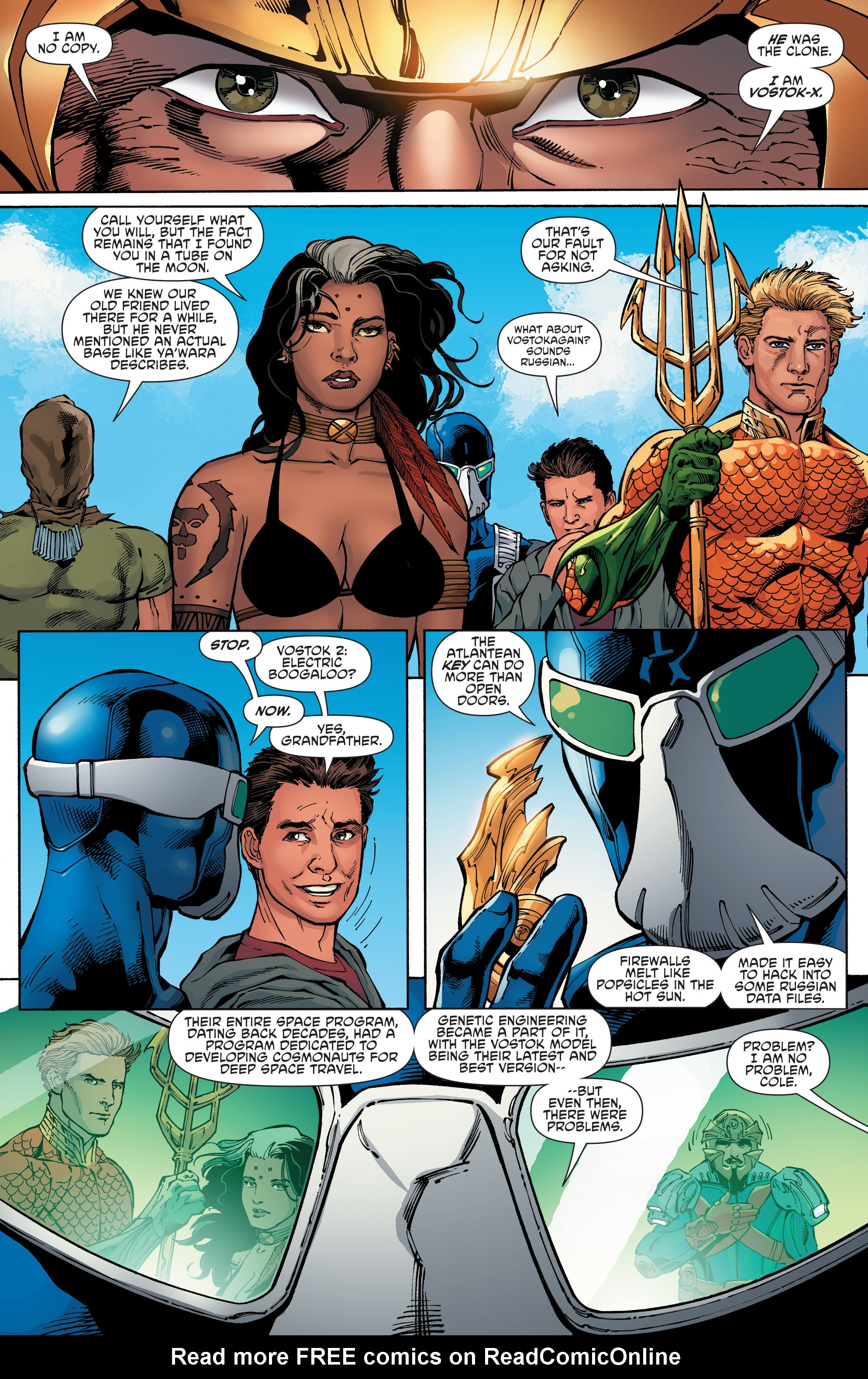 Read online Aquaman and the Others comic -  Issue #6 - 4