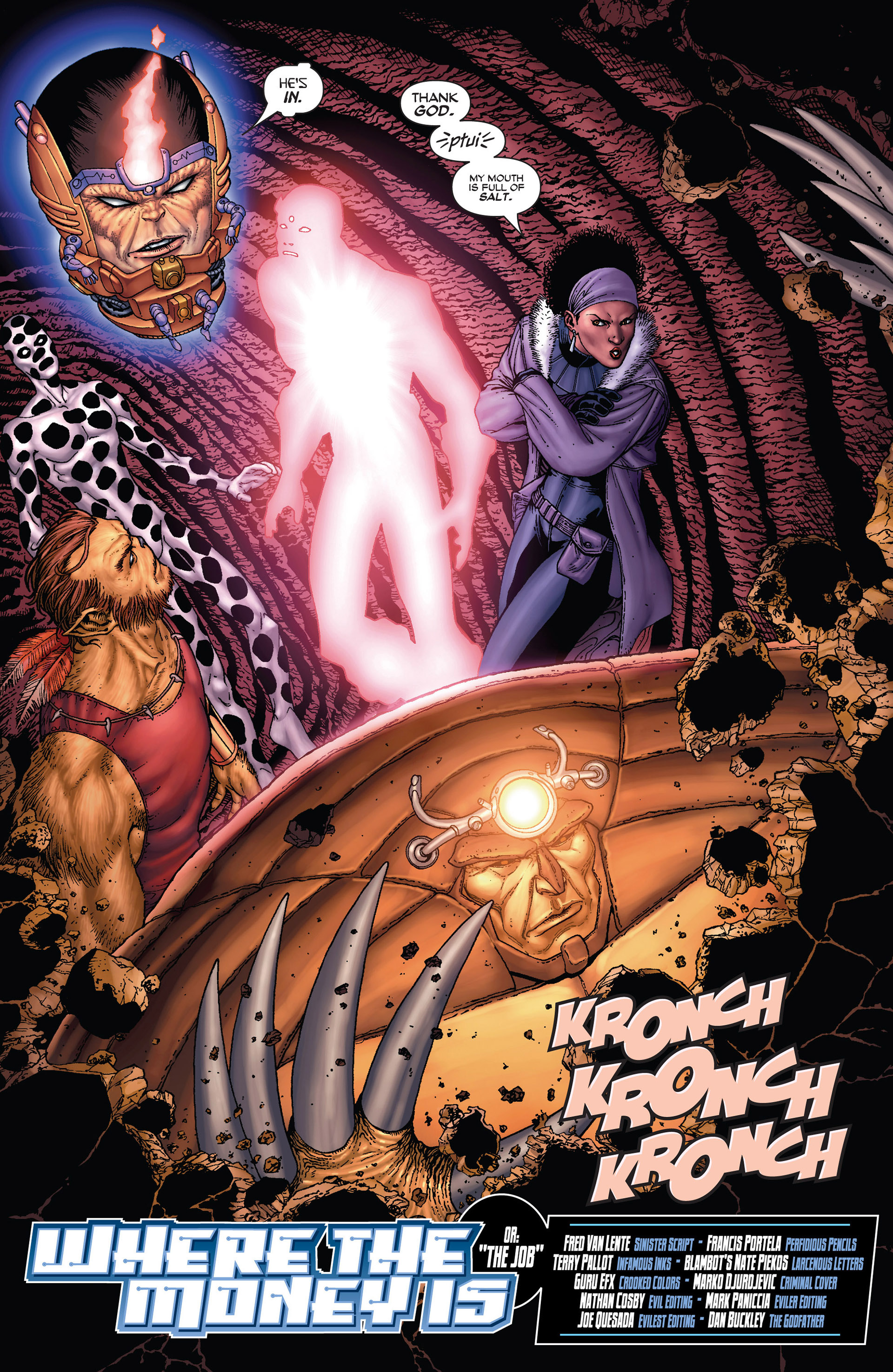Read online Super-Villain Team-Up/MODOK's 11 comic -  Issue #3 - 5