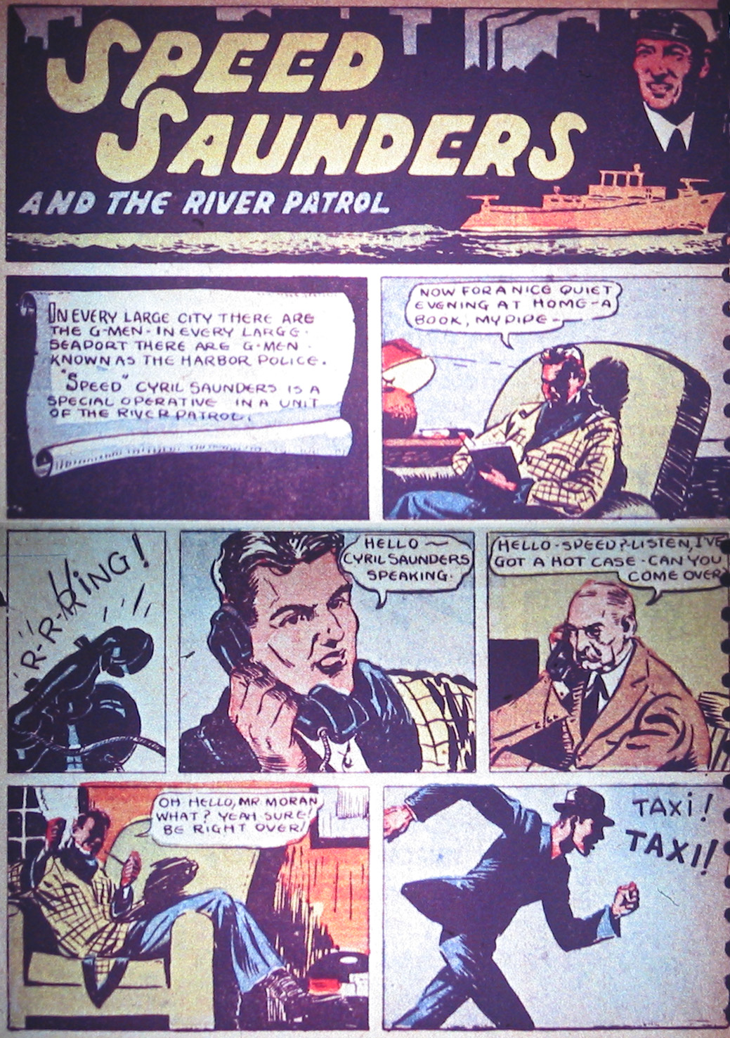 Read online Detective Comics (1937) comic -  Issue #1 - 5