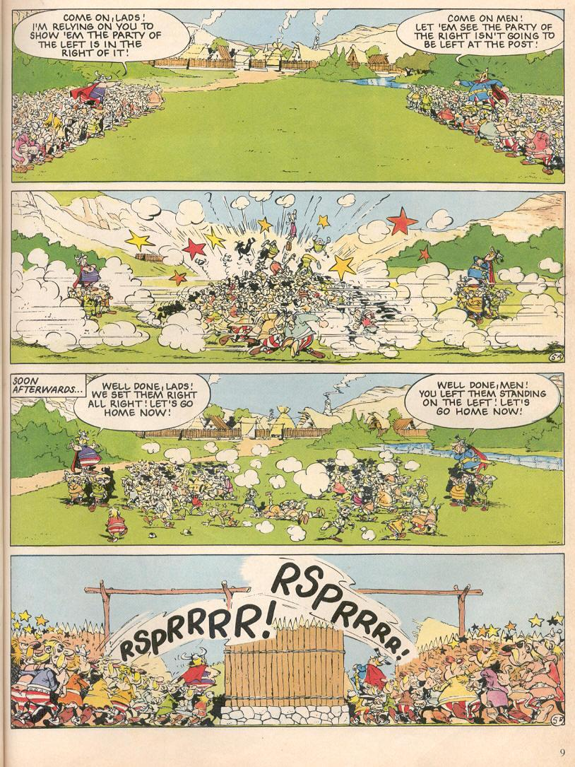 Read online Asterix comic -  Issue #25 - 6