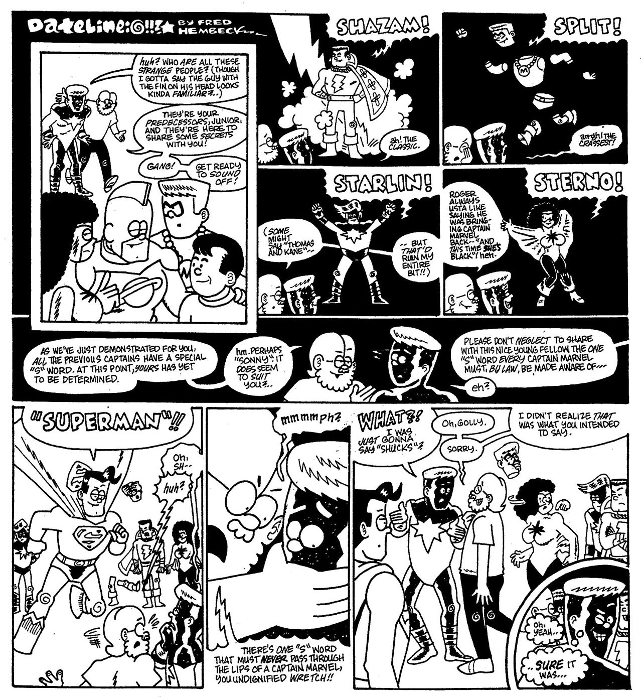 Read online The Nearly Complete Essential Hembeck Archives Omnibus comic -  Issue # TPB (Part 8) - 32