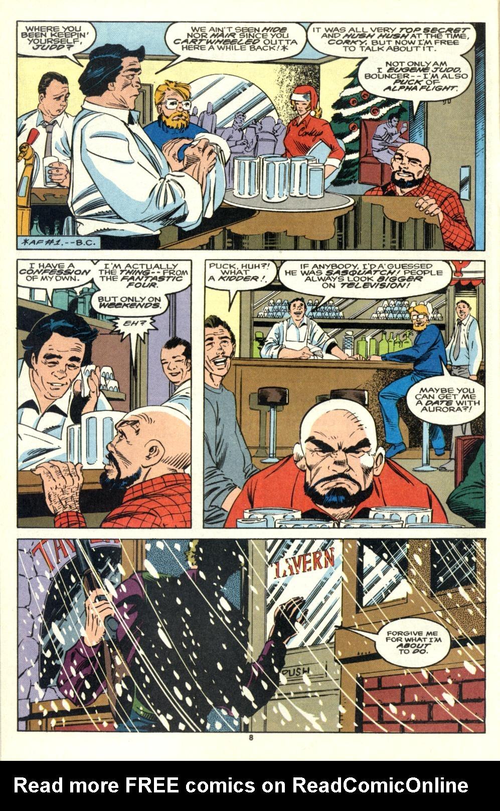 Read online Alpha Flight (1983) comic -  Issue #105 - 7
