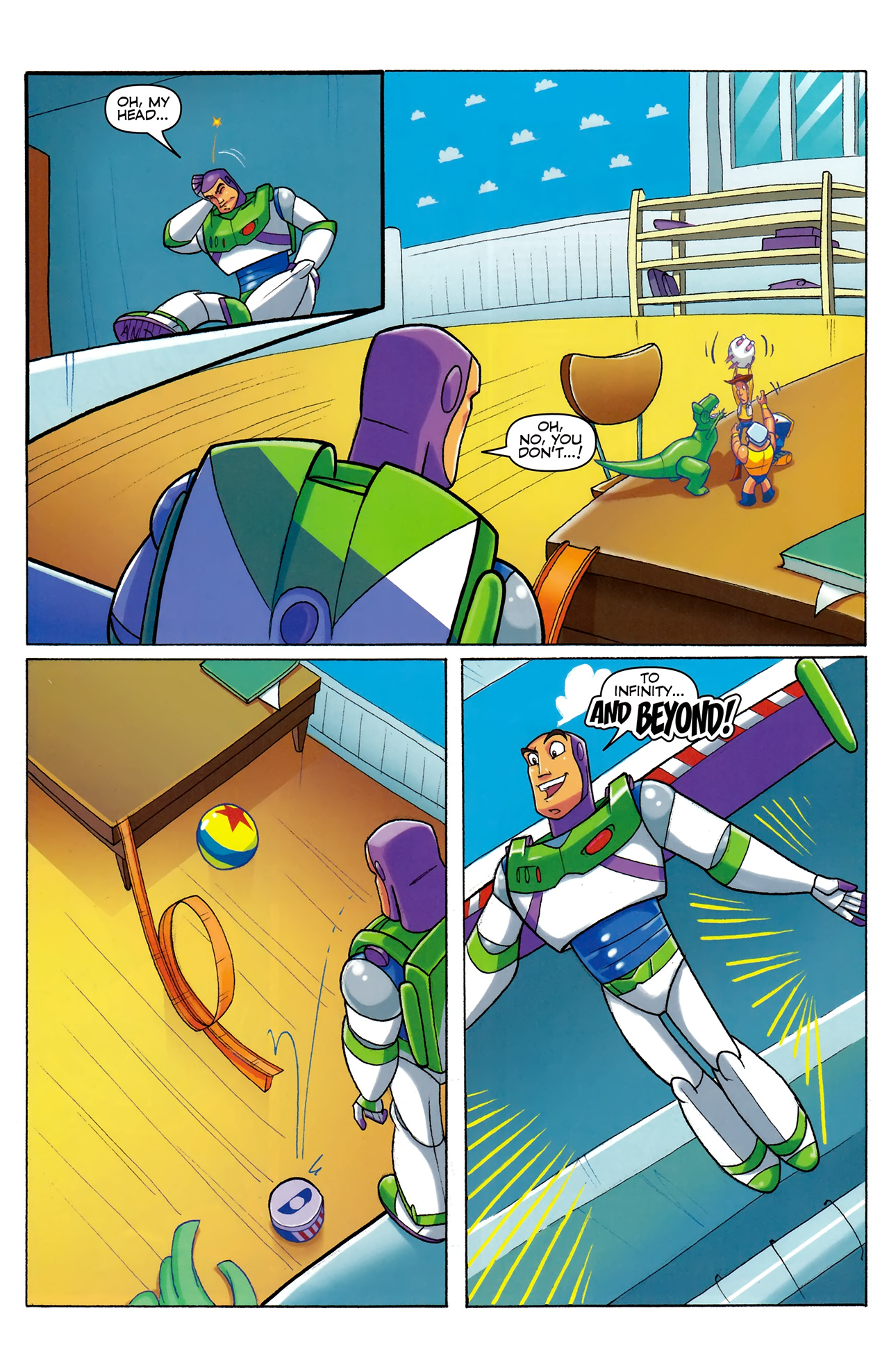 Read online Toy Story (2009) comic -  Issue #5 - 19