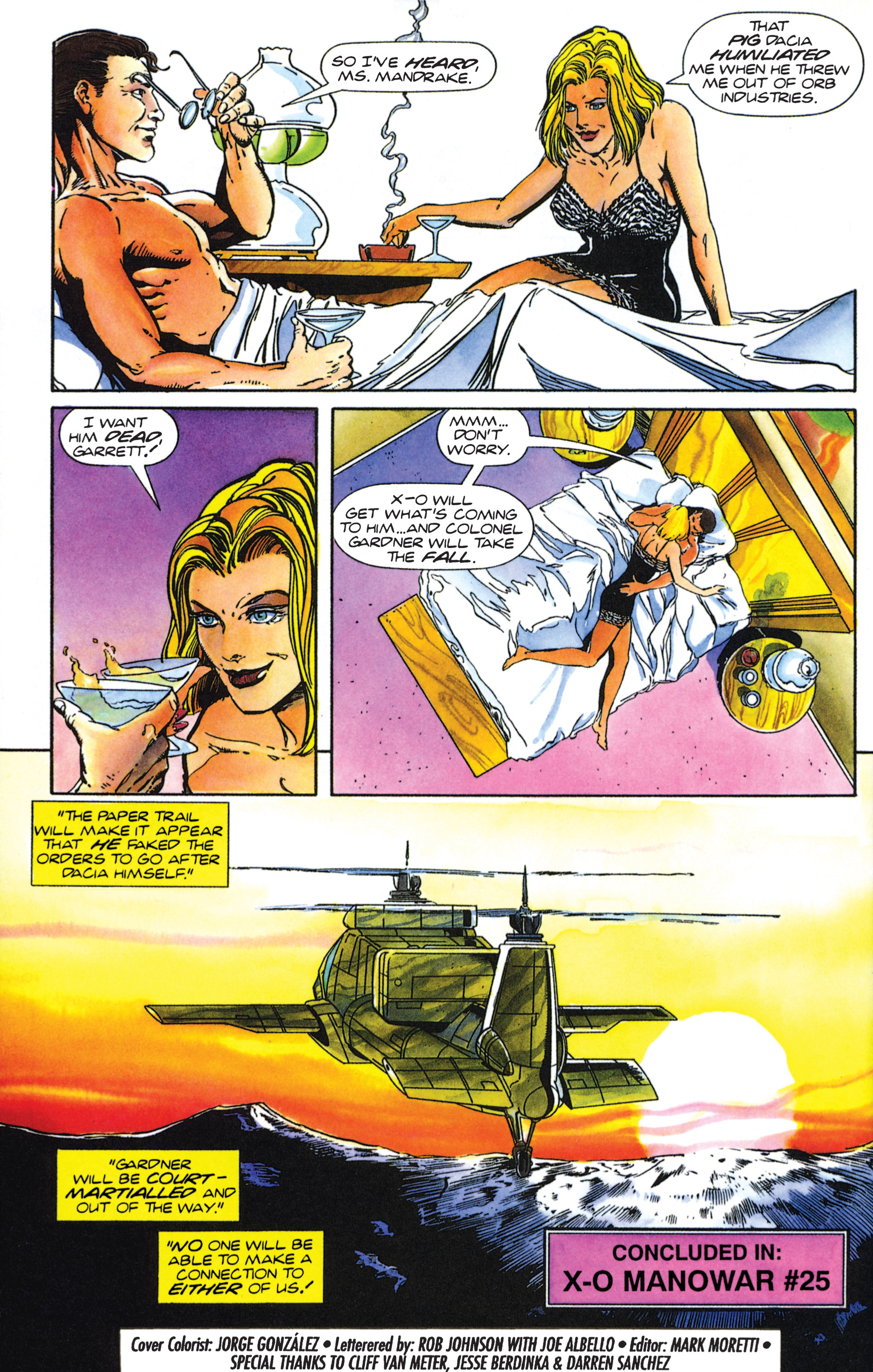 Read online Armorines comic -  Issue #0 - 16