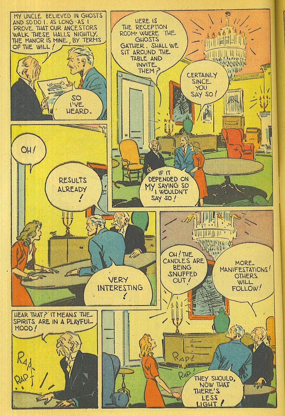 Read online Super-Magician Comics comic -  Issue #39 - 43