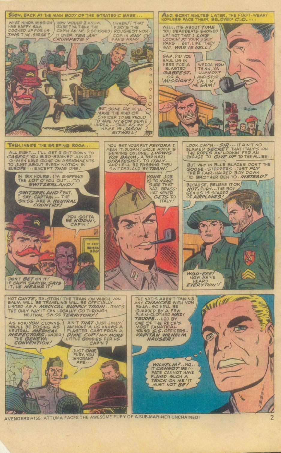 Read online Sgt. Fury comic -  Issue #138 - 4