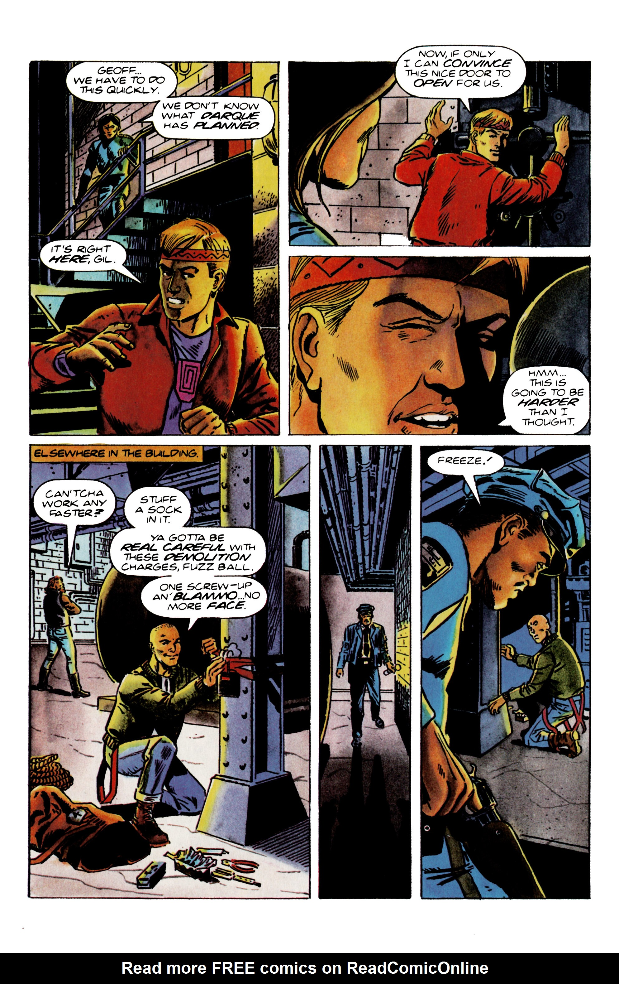 Read online Eternal Warrior (1992) comic -  Issue #22 - 14