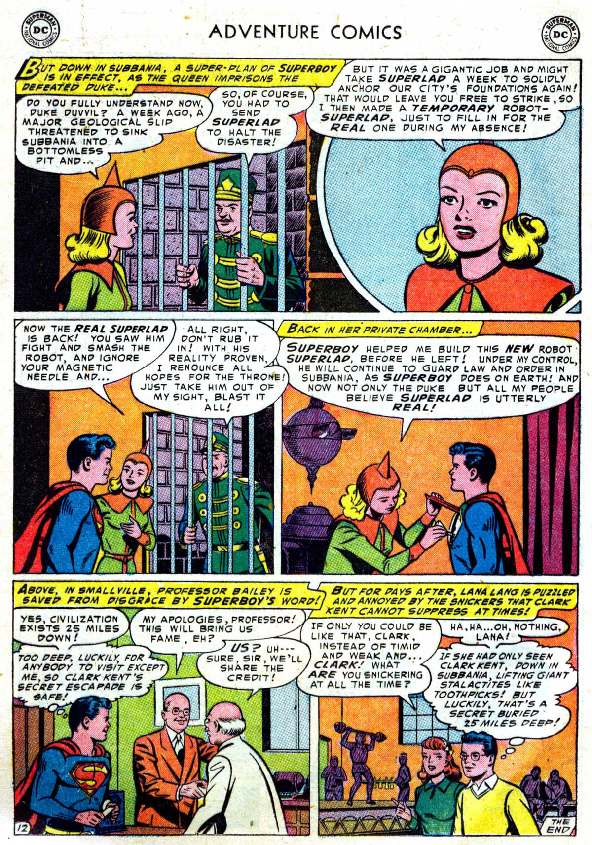 Read online Adventure Comics (1938) comic -  Issue #199 - 13