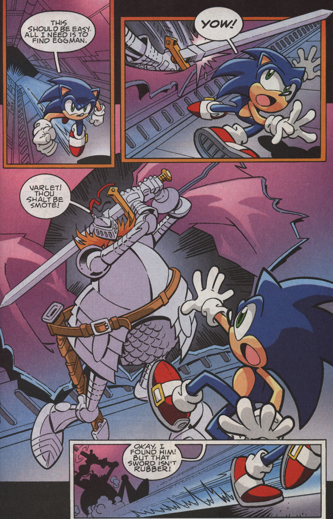 Read online Sonic X comic -  Issue #35 - 19