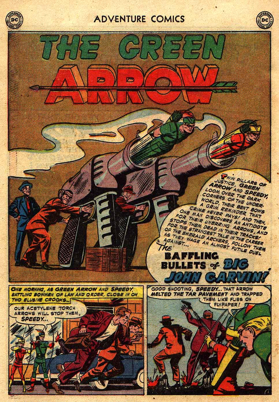 Read online Adventure Comics (1938) comic -  Issue #175 - 34