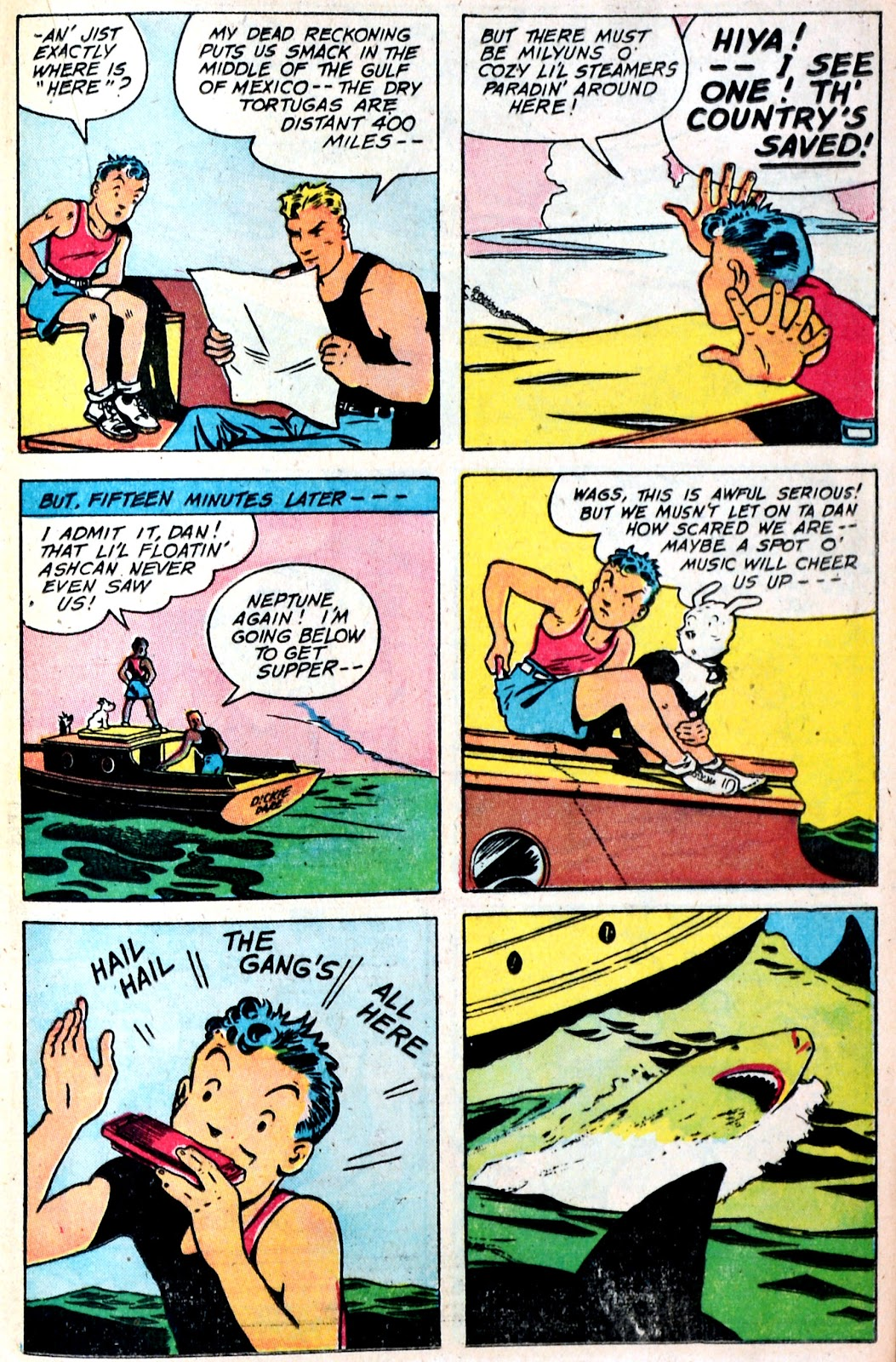 Read online Famous Funnies comic -  Issue #149 - 31
