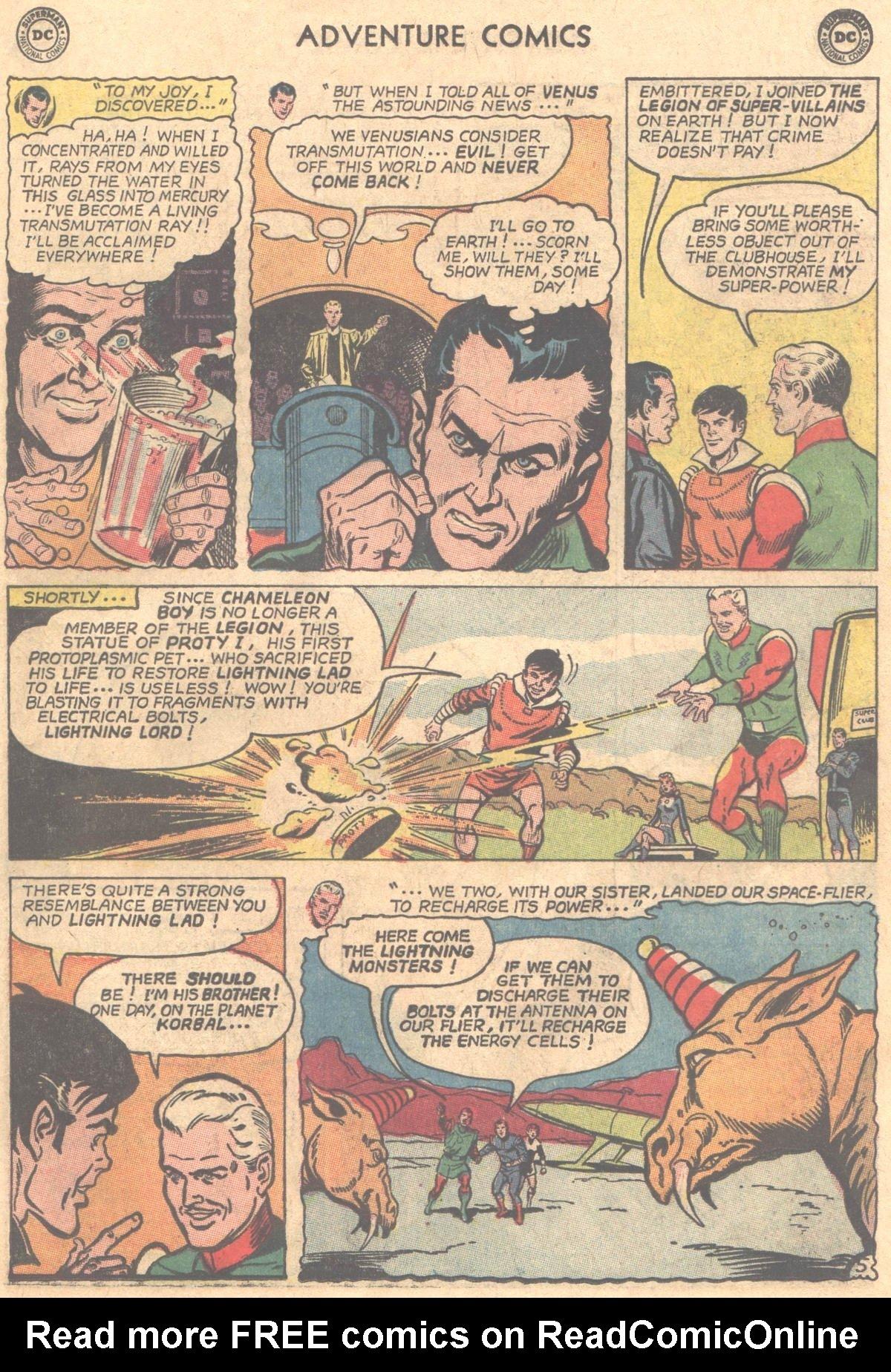 Read online Adventure Comics (1938) comic -  Issue #331 - 6