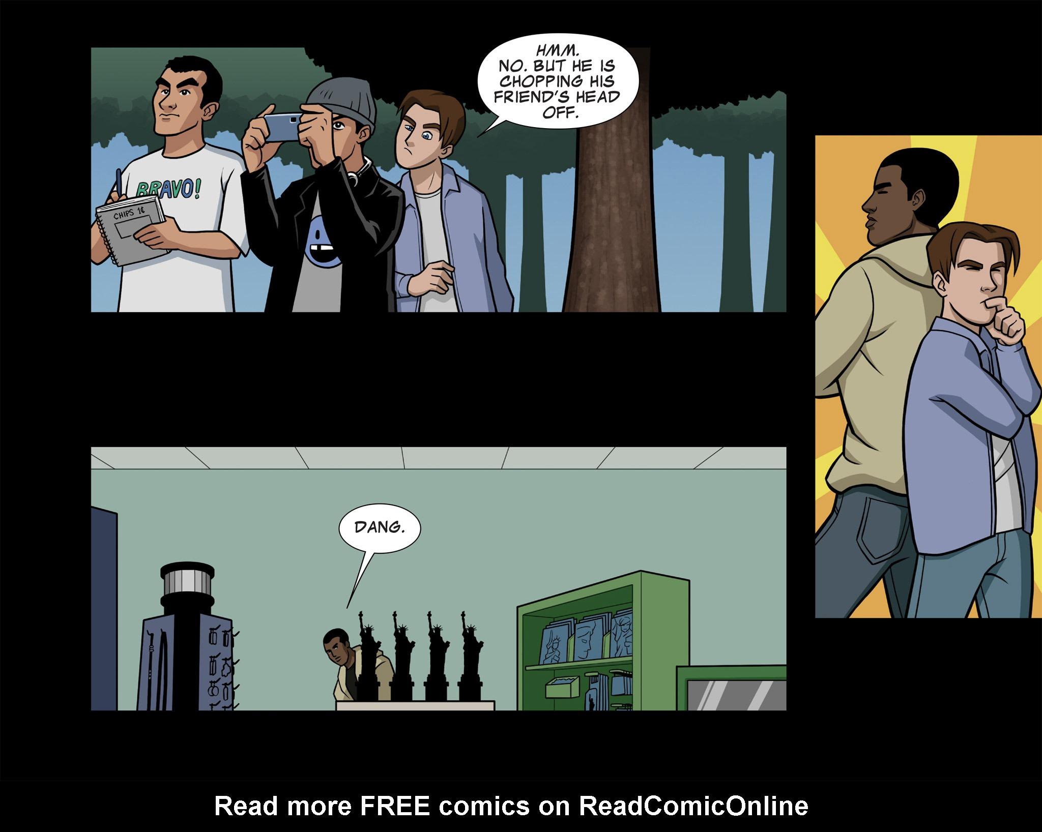 Read online Ultimate Spider-Man (Infinite Comics) (2015) comic -  Issue #7 - 8