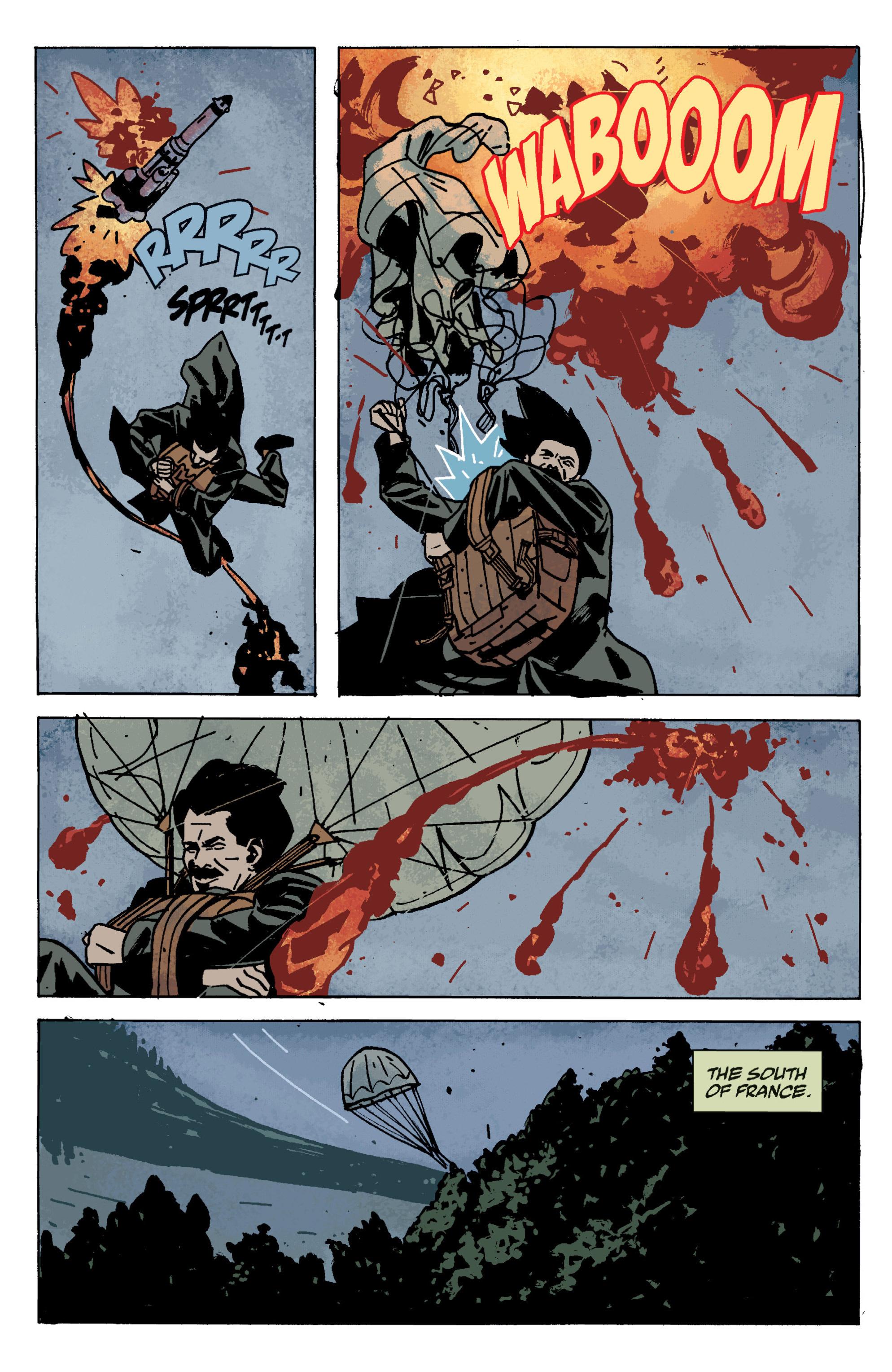 Read online B.P.R.D. (2003) comic -  Issue # TPB 9 - 132
