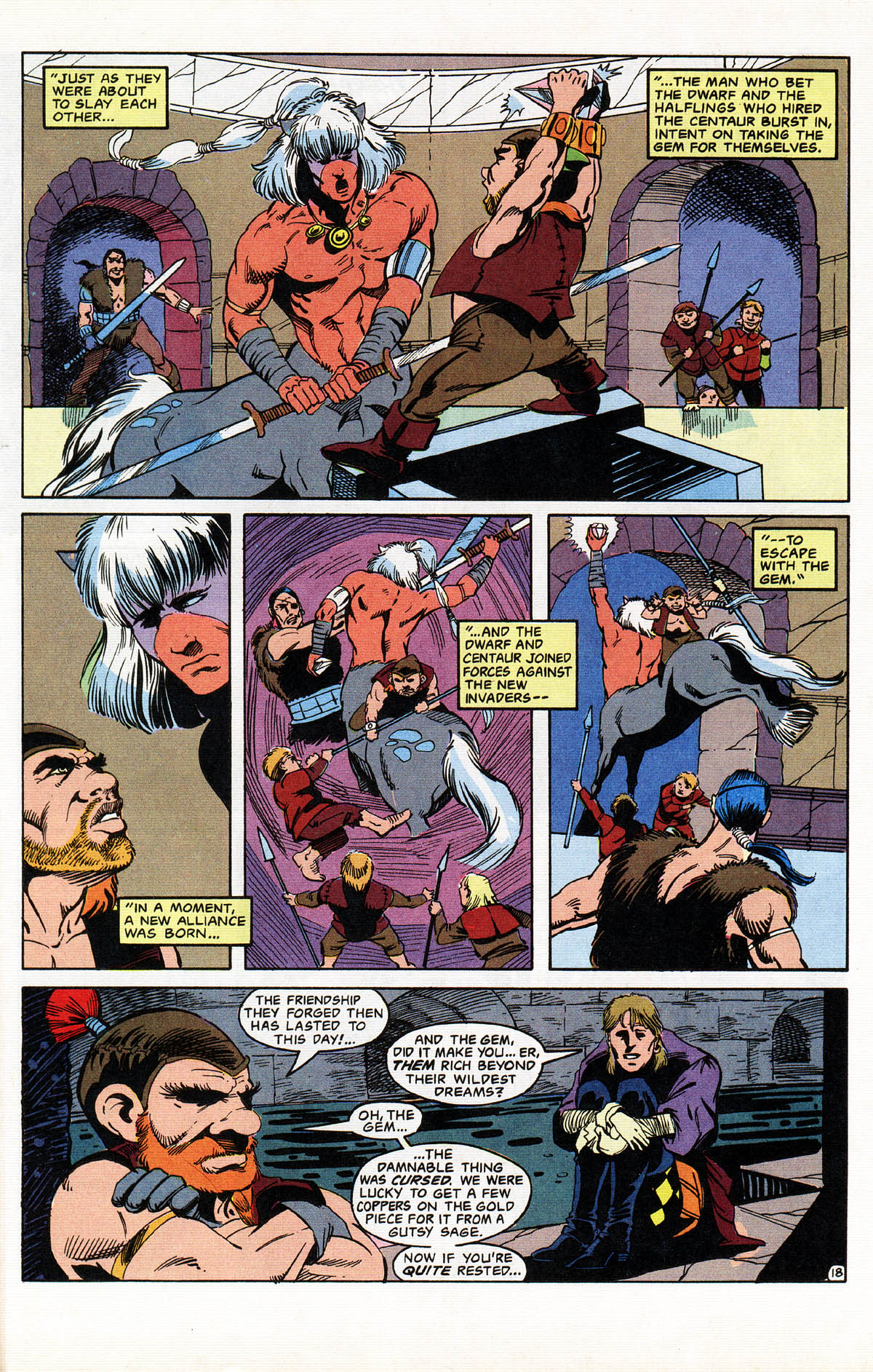 Read online Advanced Dungeons & Dragons comic -  Issue #11 - 22