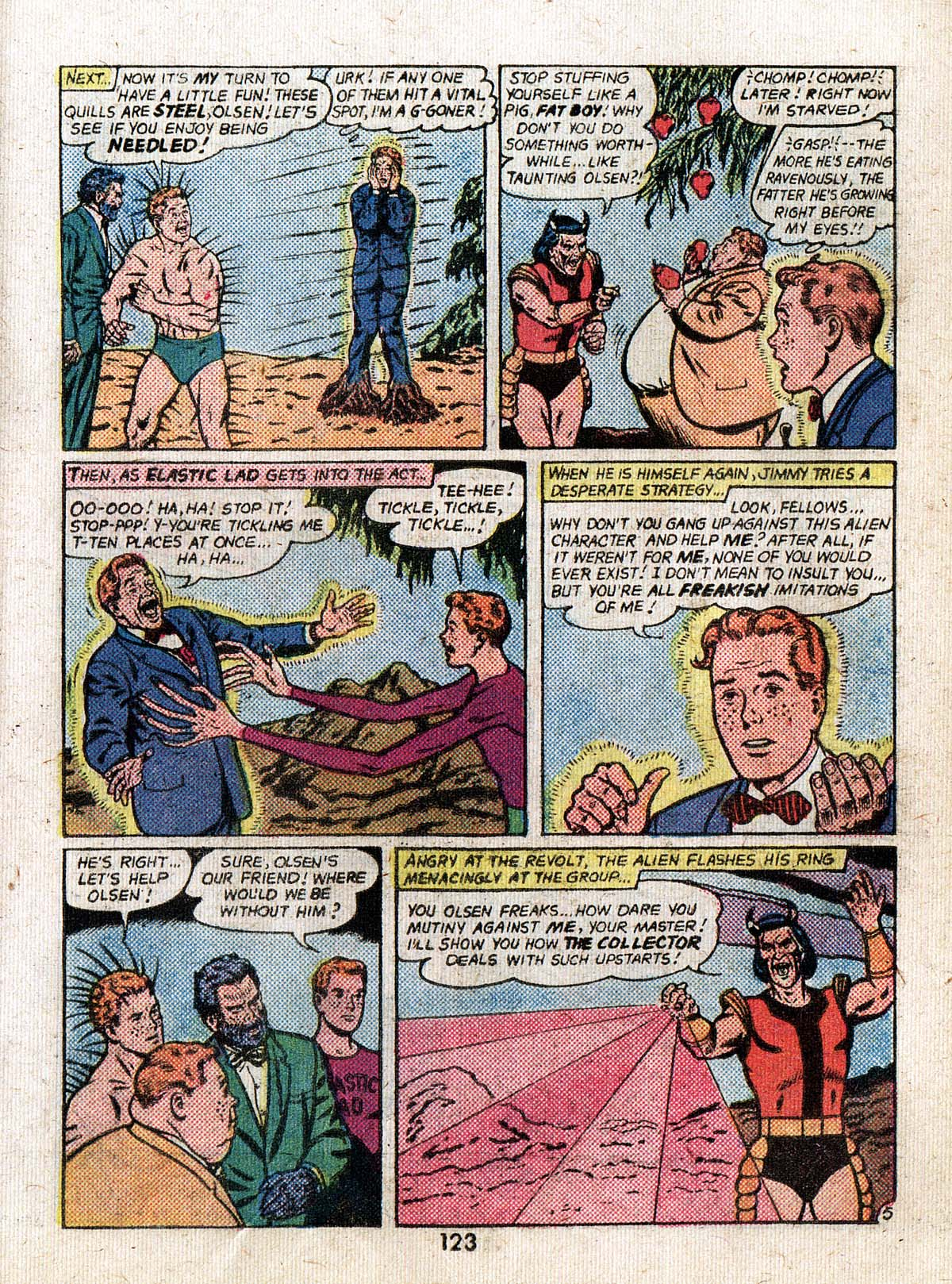 Read online Adventure Comics (1938) comic -  Issue #500 - 123