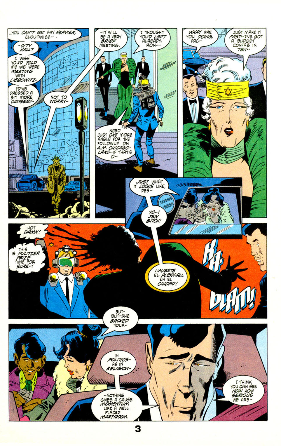 Read online American Flagg! comic -  Issue #29 - 5