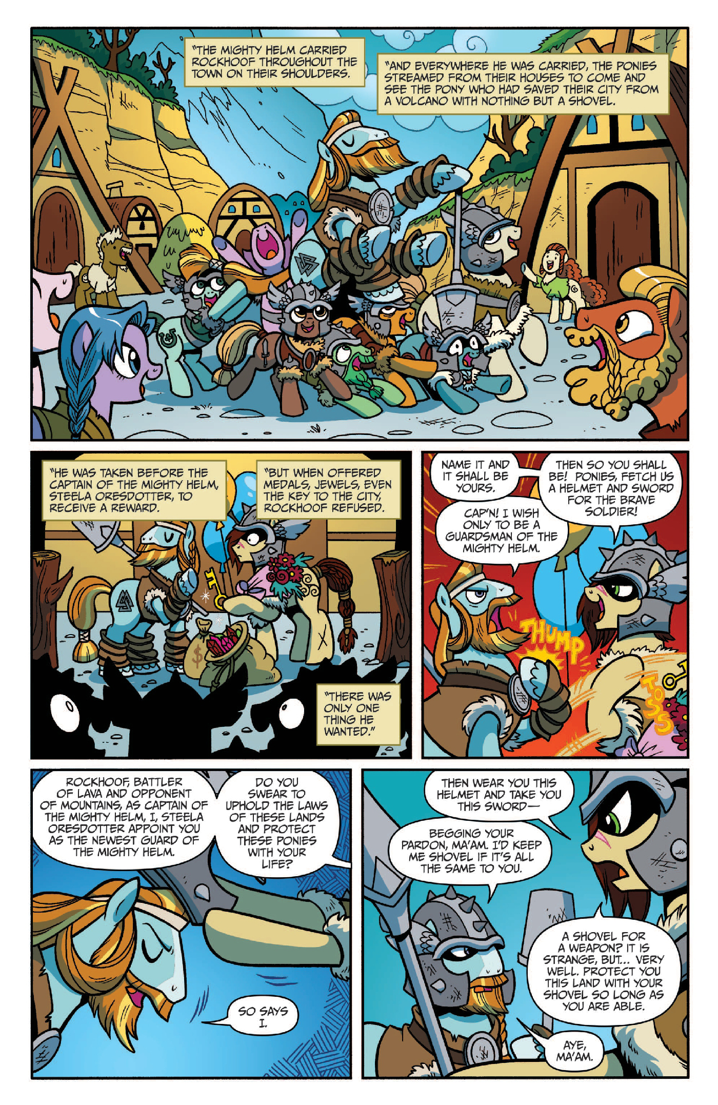 Read online My Little Pony: Legends of Magic comic -  Issue #2 - 5