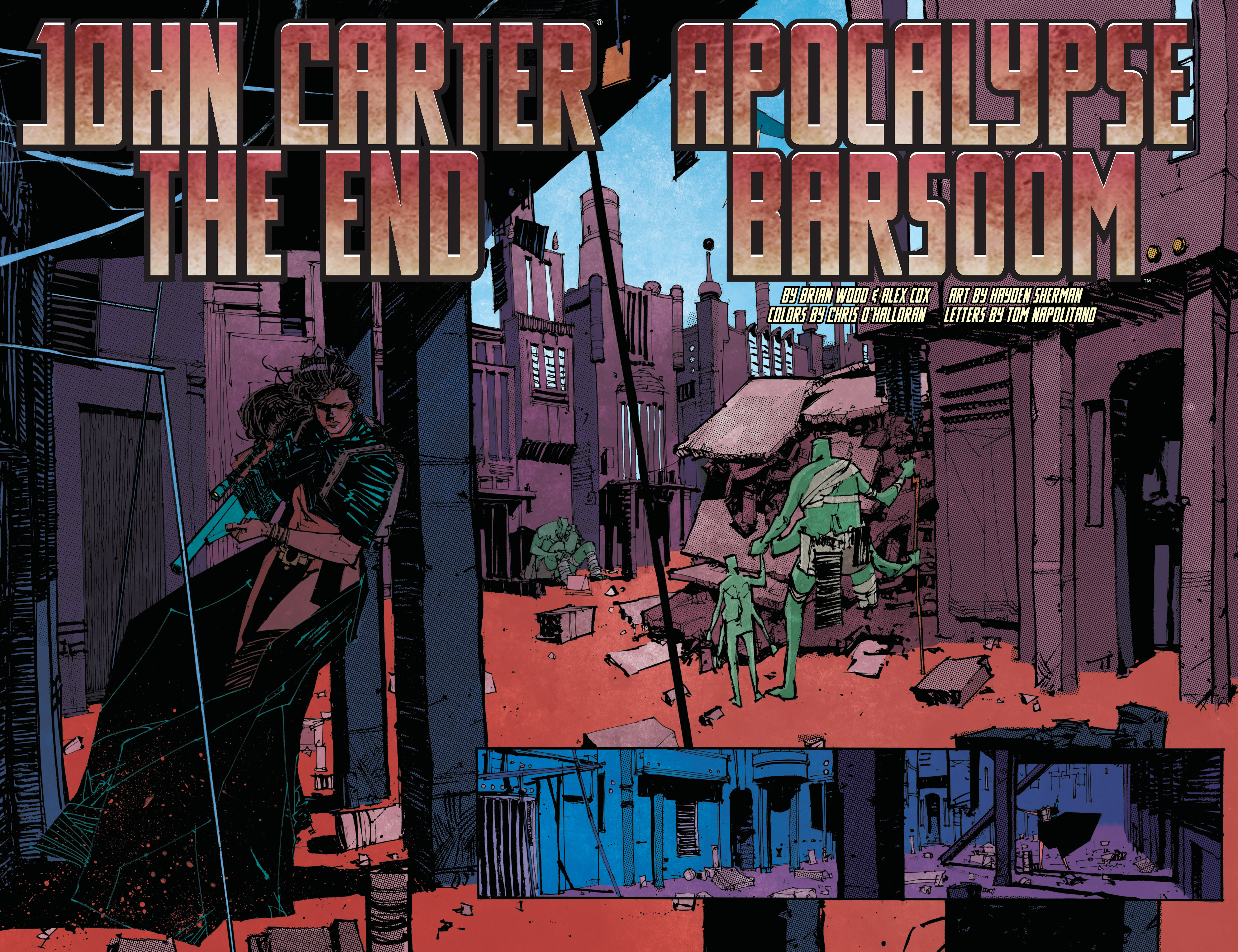 Read online John Carter: The End comic -  Issue #2 - 5