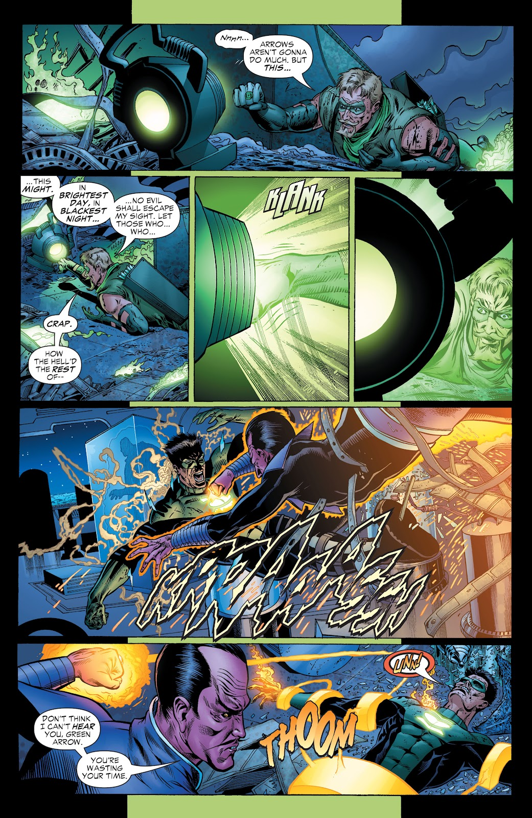Read online Green Lantern by Geoff Johns comic -  Issue # TPB 1 (Part 1) - 100