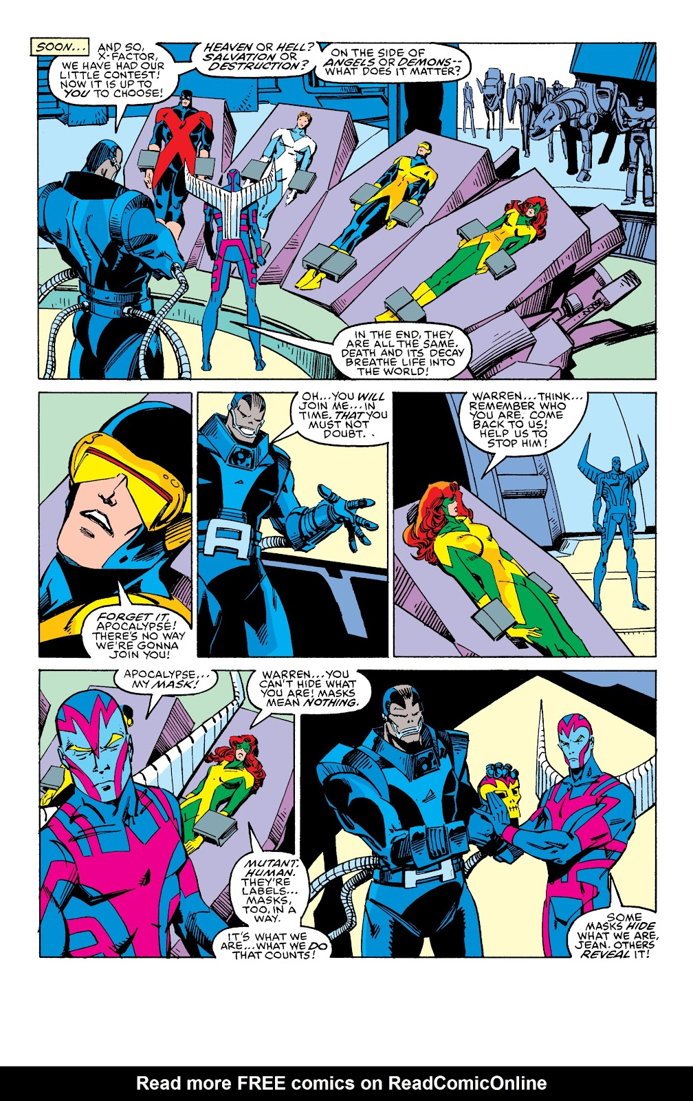 Read online X-Men Milestones: Fall of the Mutants comic -  Issue # TPB (Part 2) - 100