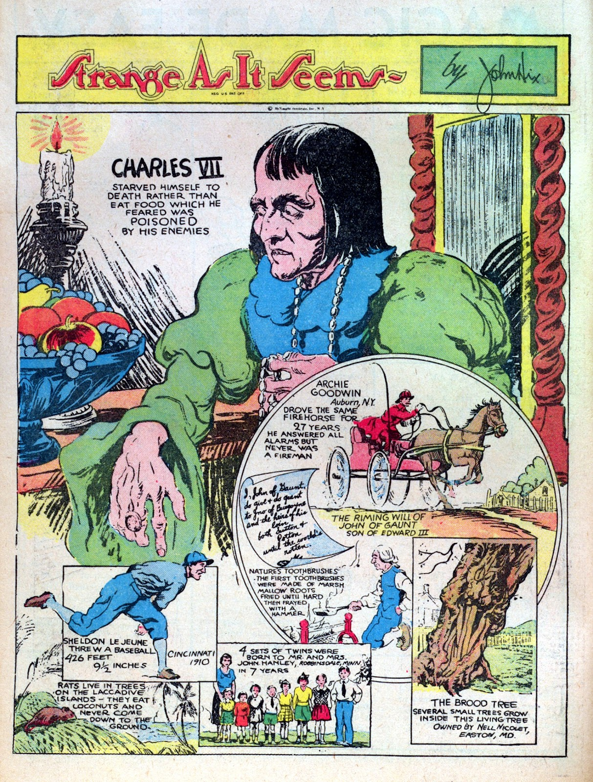 Read online Famous Funnies comic -  Issue #8 - 10