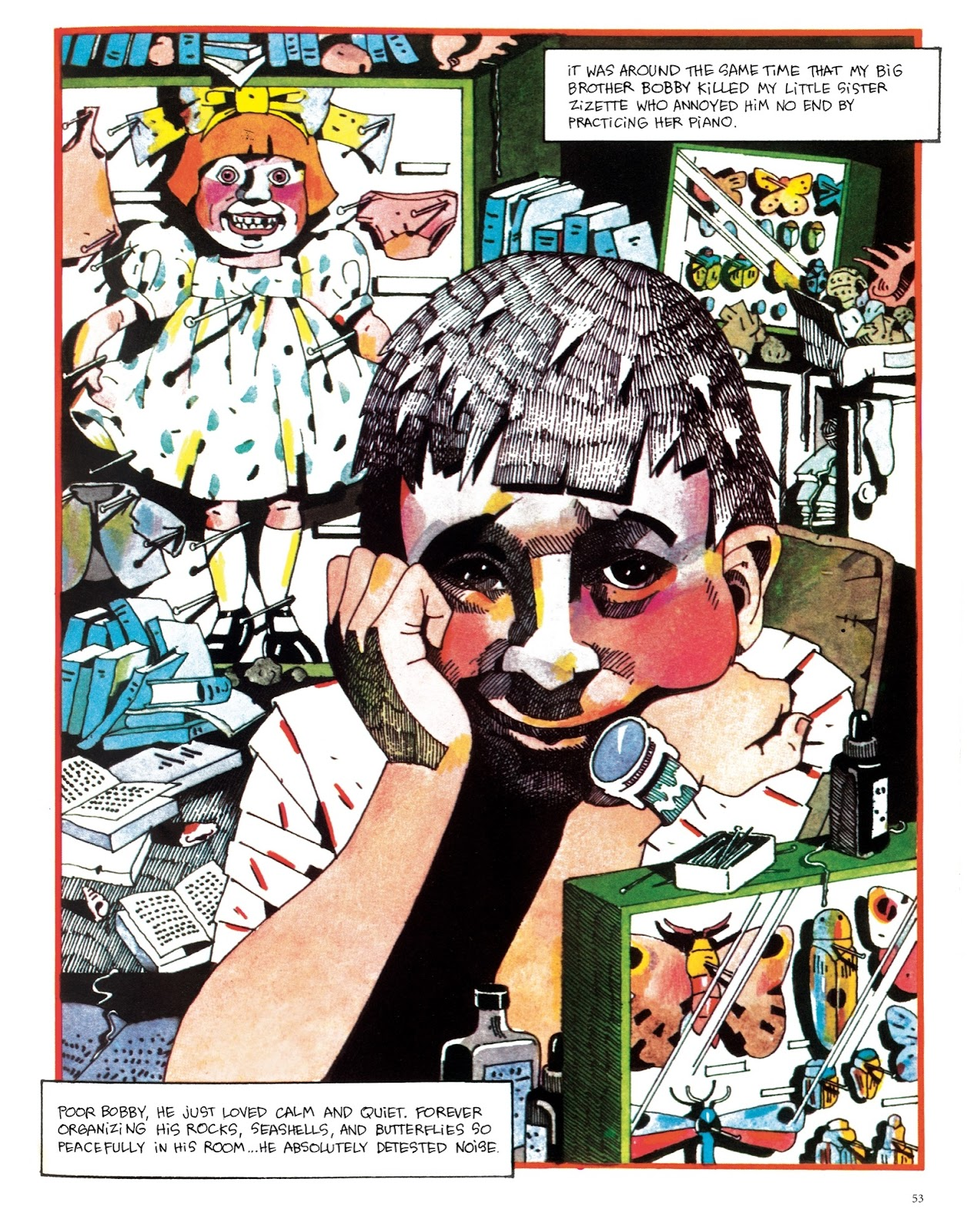Read online The Green Hand and Other Stories comic -  Issue # TPB - 52