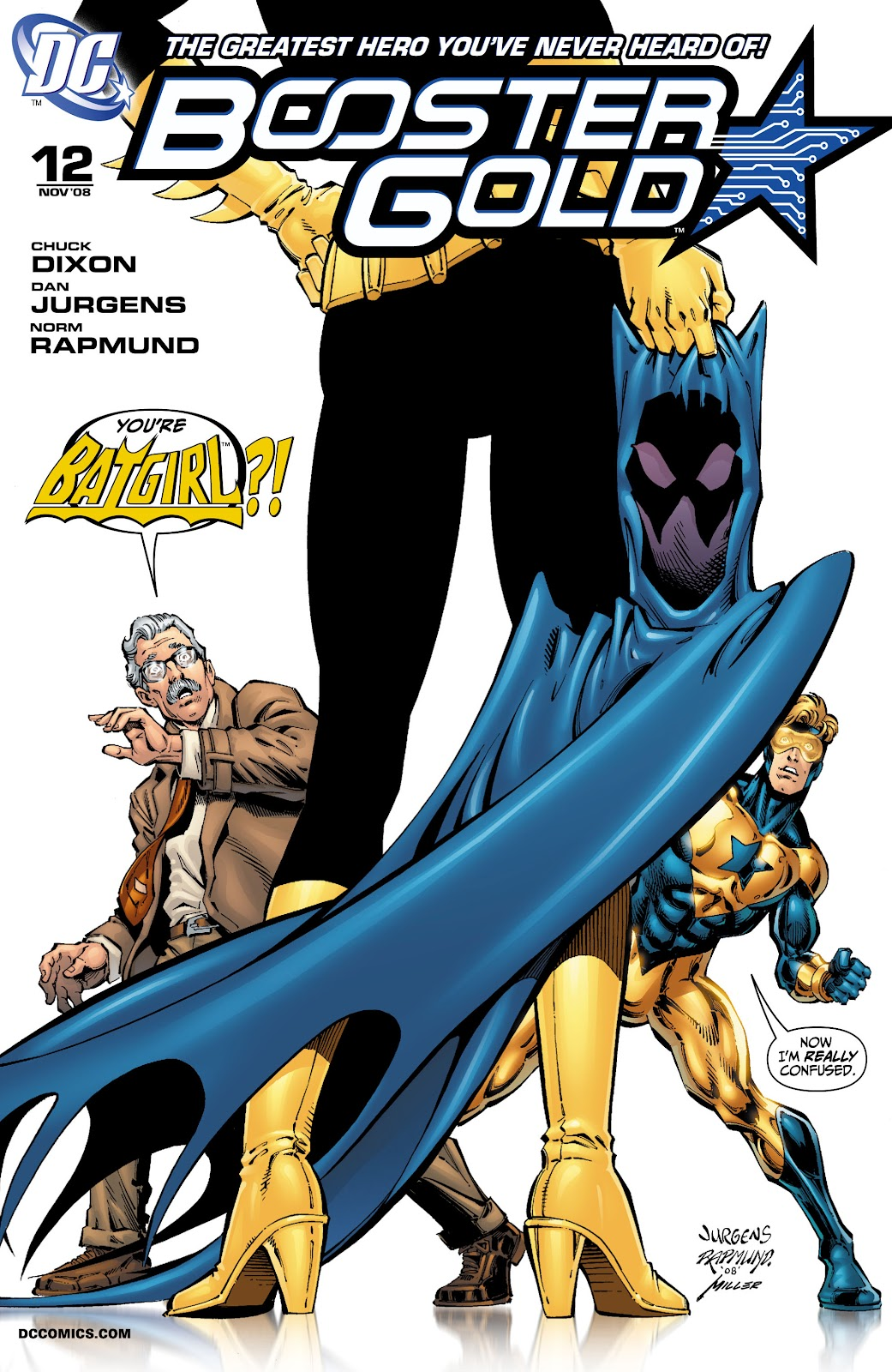Booster Gold (2007) issue 12 - Page 1