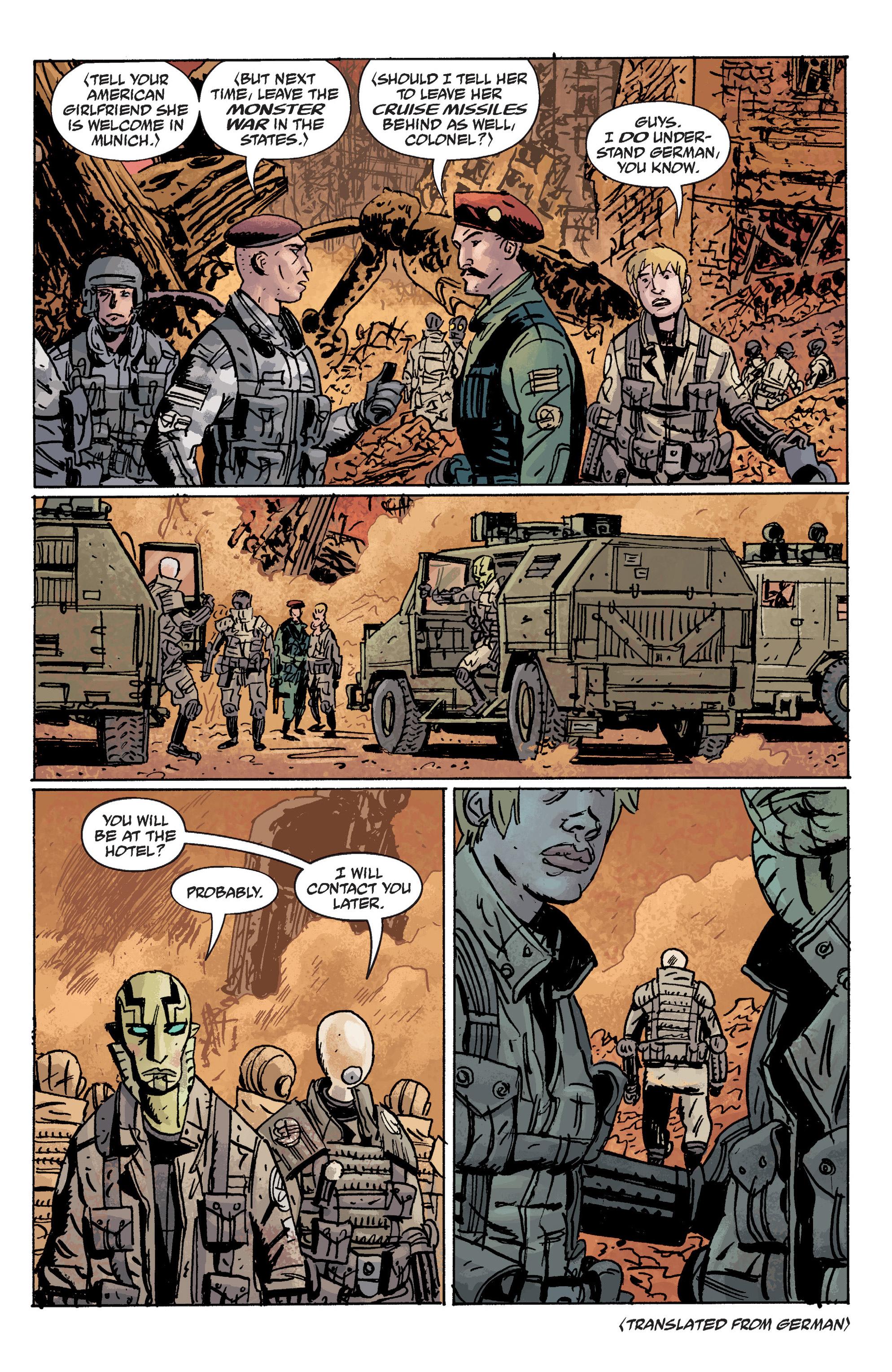 Read online B.P.R.D. (2003) comic -  Issue # TPB 10 - 123