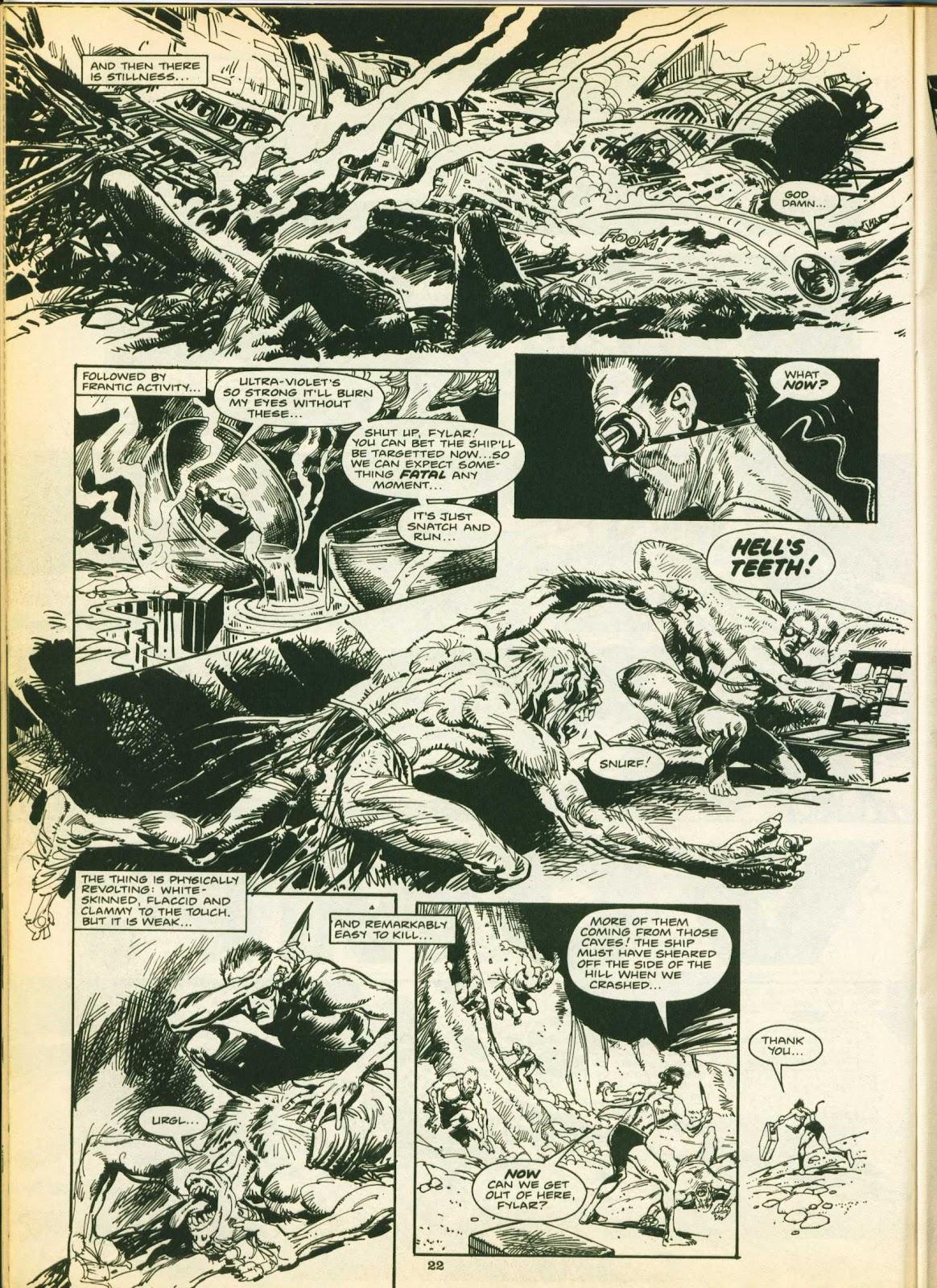 Warrior Issue #14 #15 - English 22