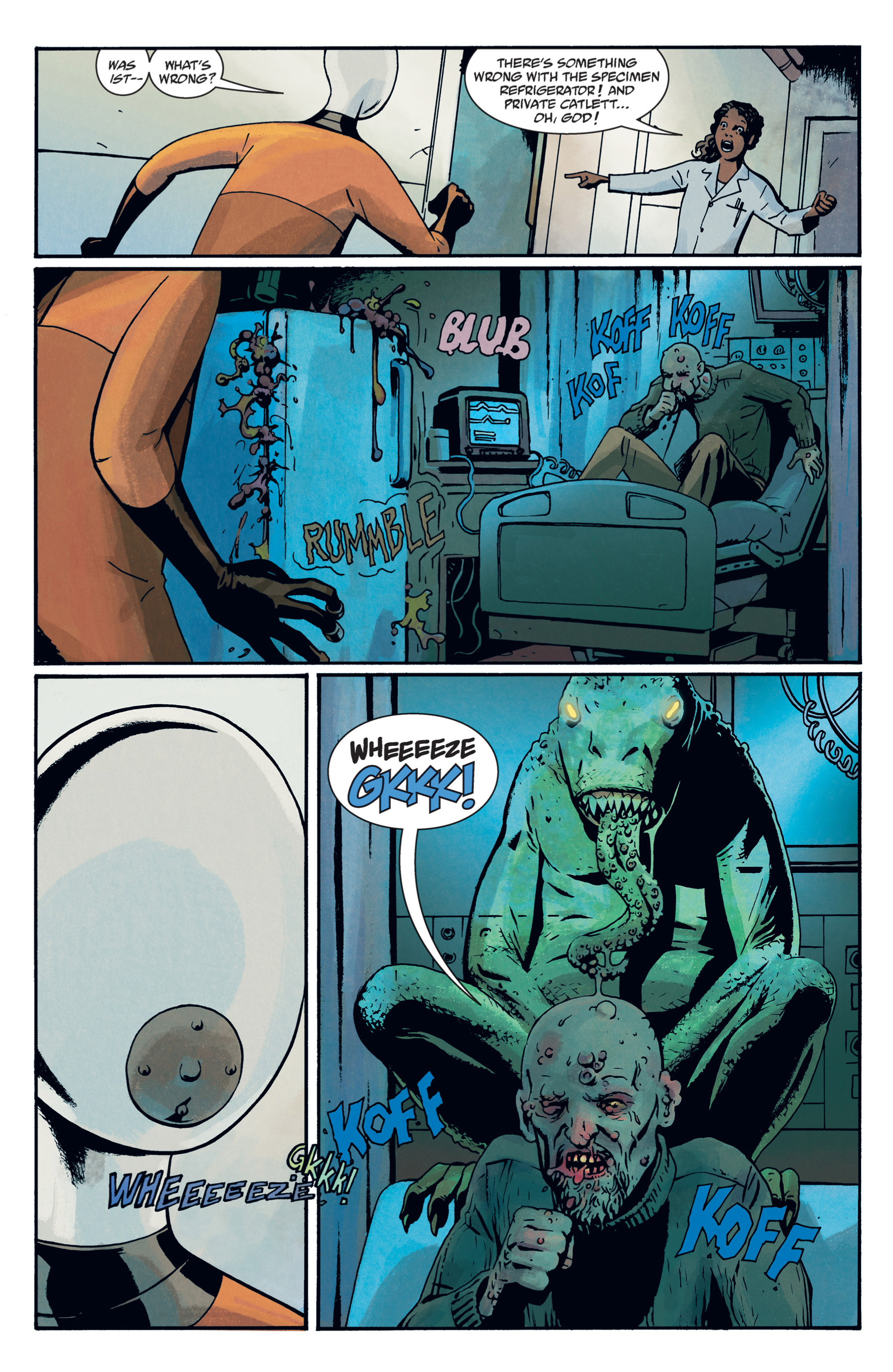 Read online B.P.R.D. (2003) comic -  Issue # TPB 12 - 98