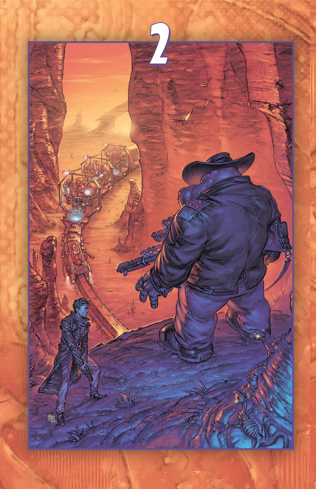 Read online Elephantmen 2261 Season Two: The Pentalion Job comic -  Issue # TPB - 29