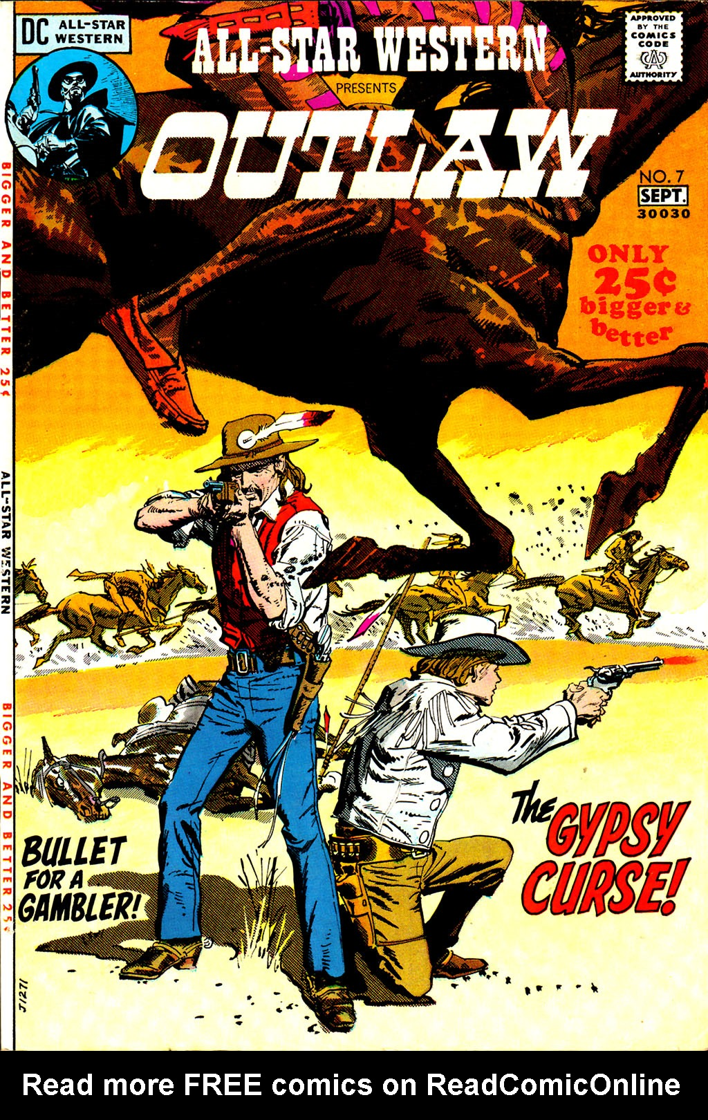 Read online All-Star Western (1970) comic -  Issue #7 - 1