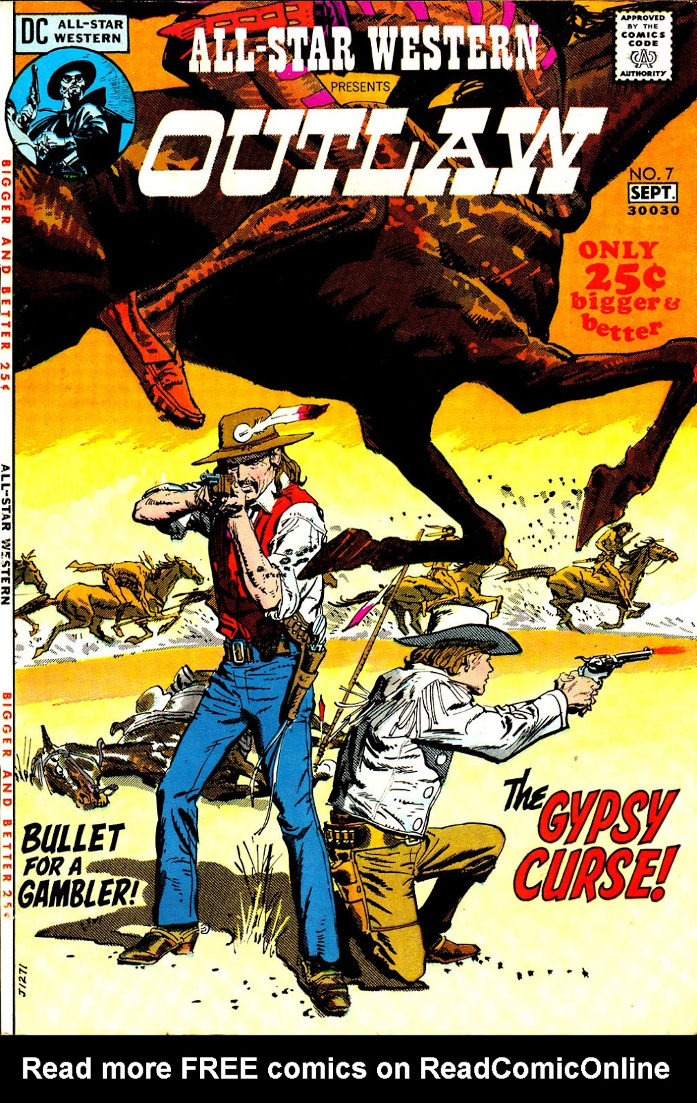All-Star Western (1970) issue 7 - Page 1