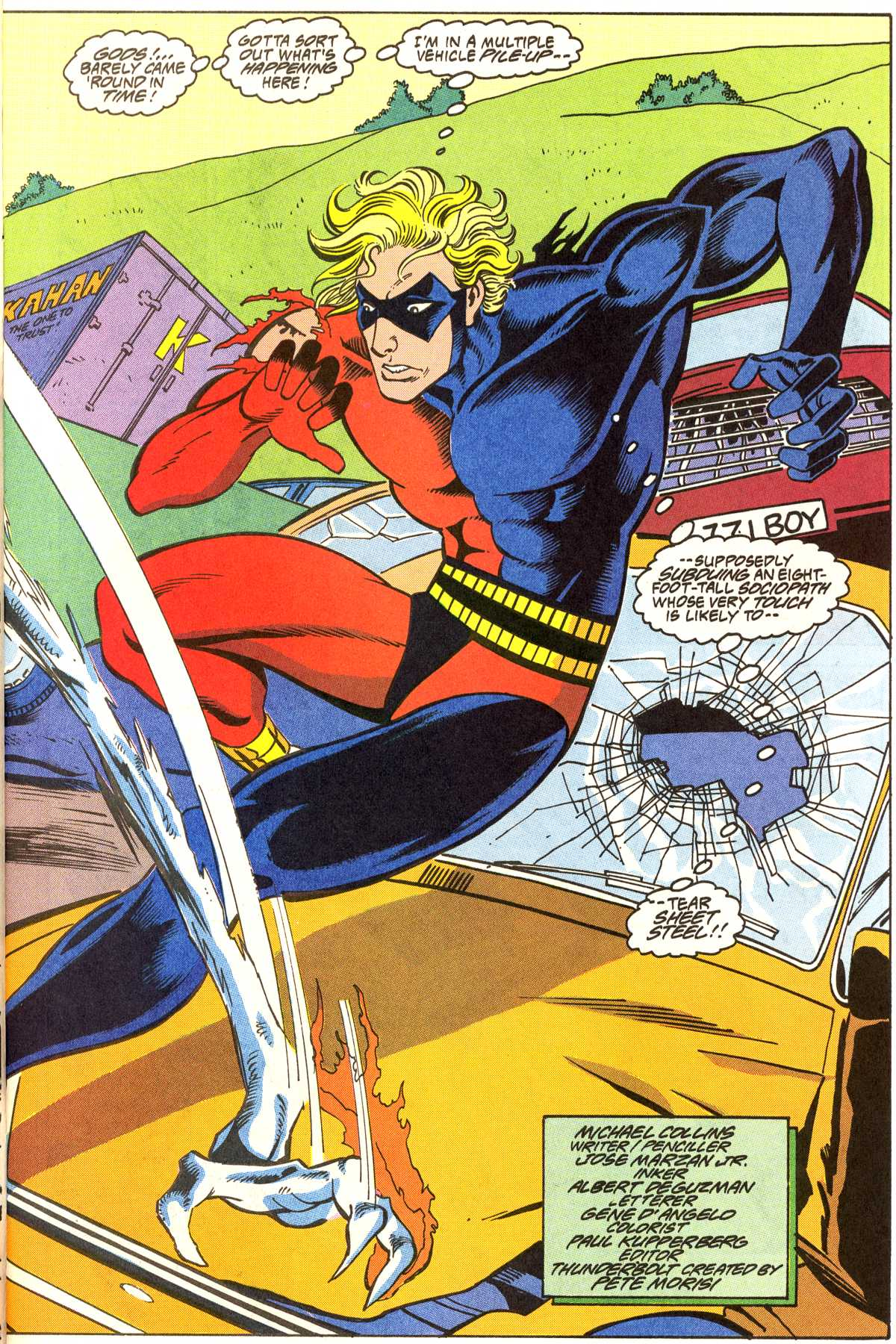 Read online Peter Cannon--Thunderbolt (1992) comic -  Issue #7 - 4