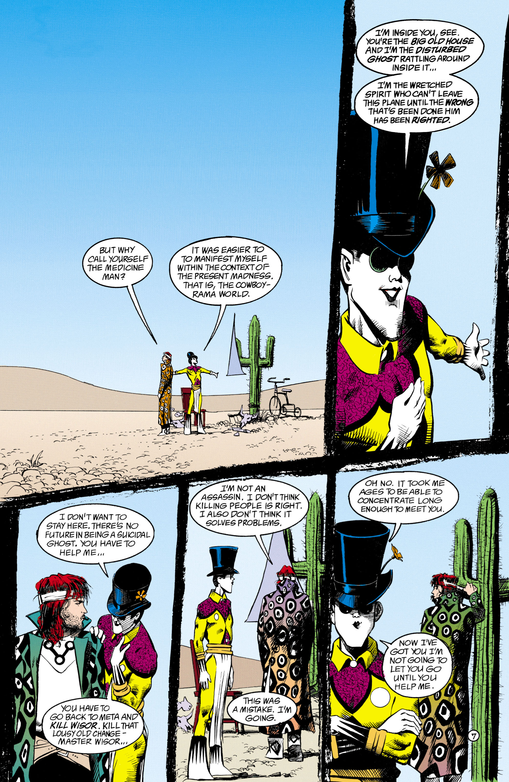 Read online Shade, the Changing Man comic -  Issue #16 - 7