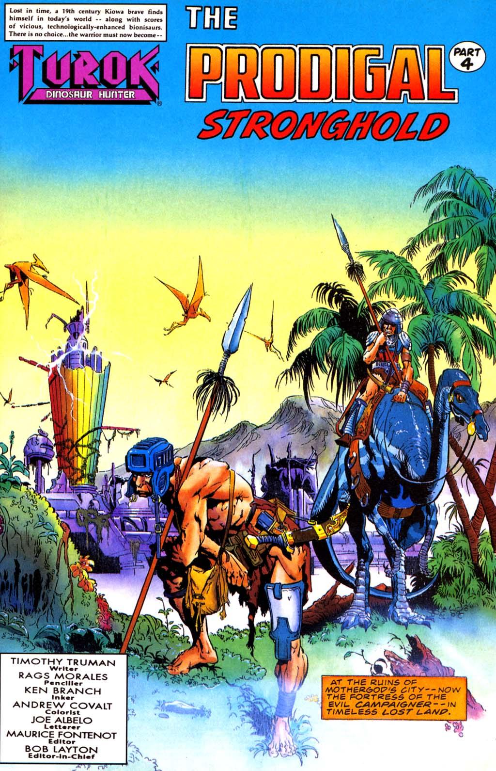Read online Turok, Dinosaur Hunter (1993) comic -  Issue #27 - 2