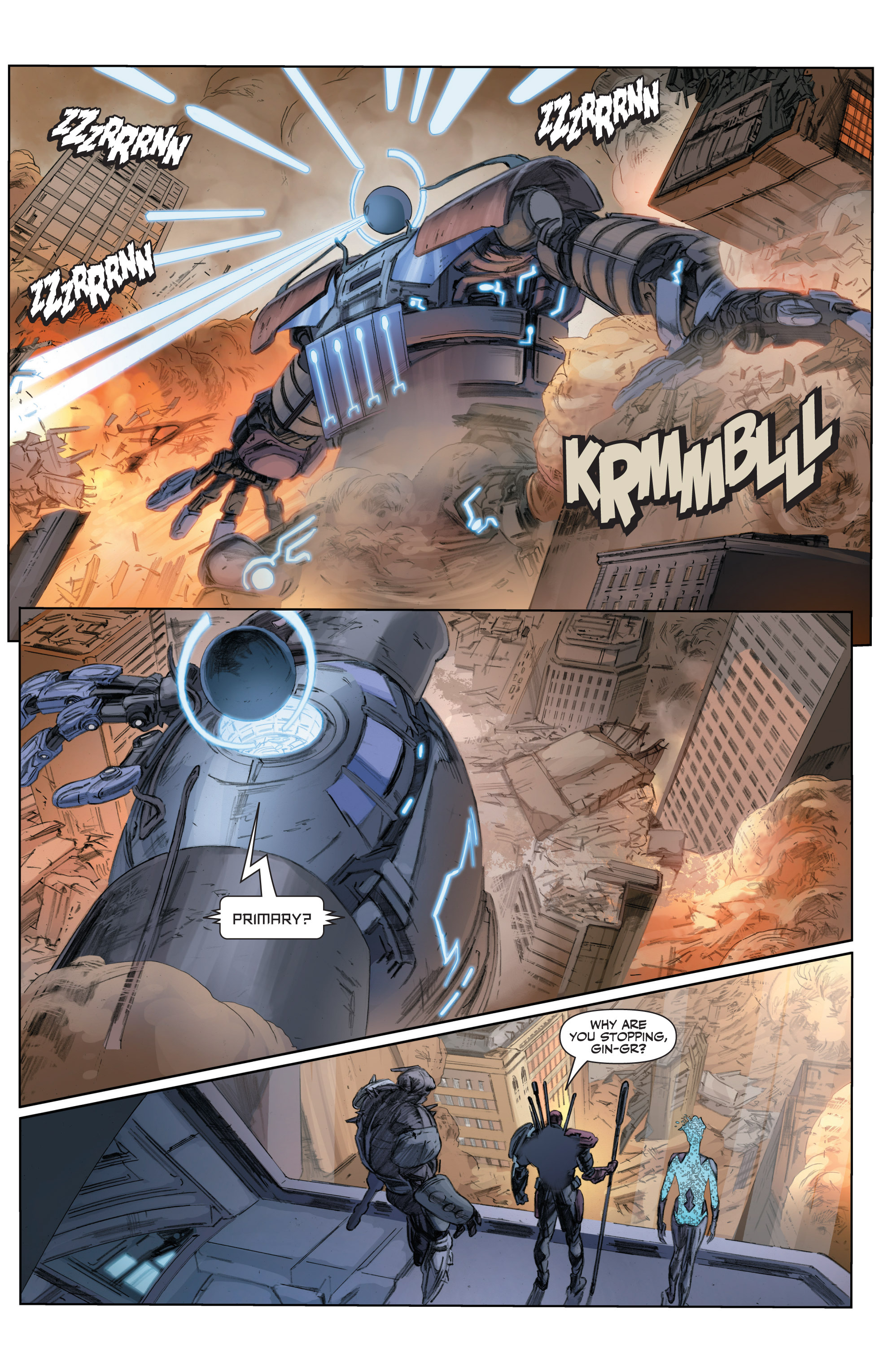 Read online Armor Hunters comic -  Issue #3 - 21