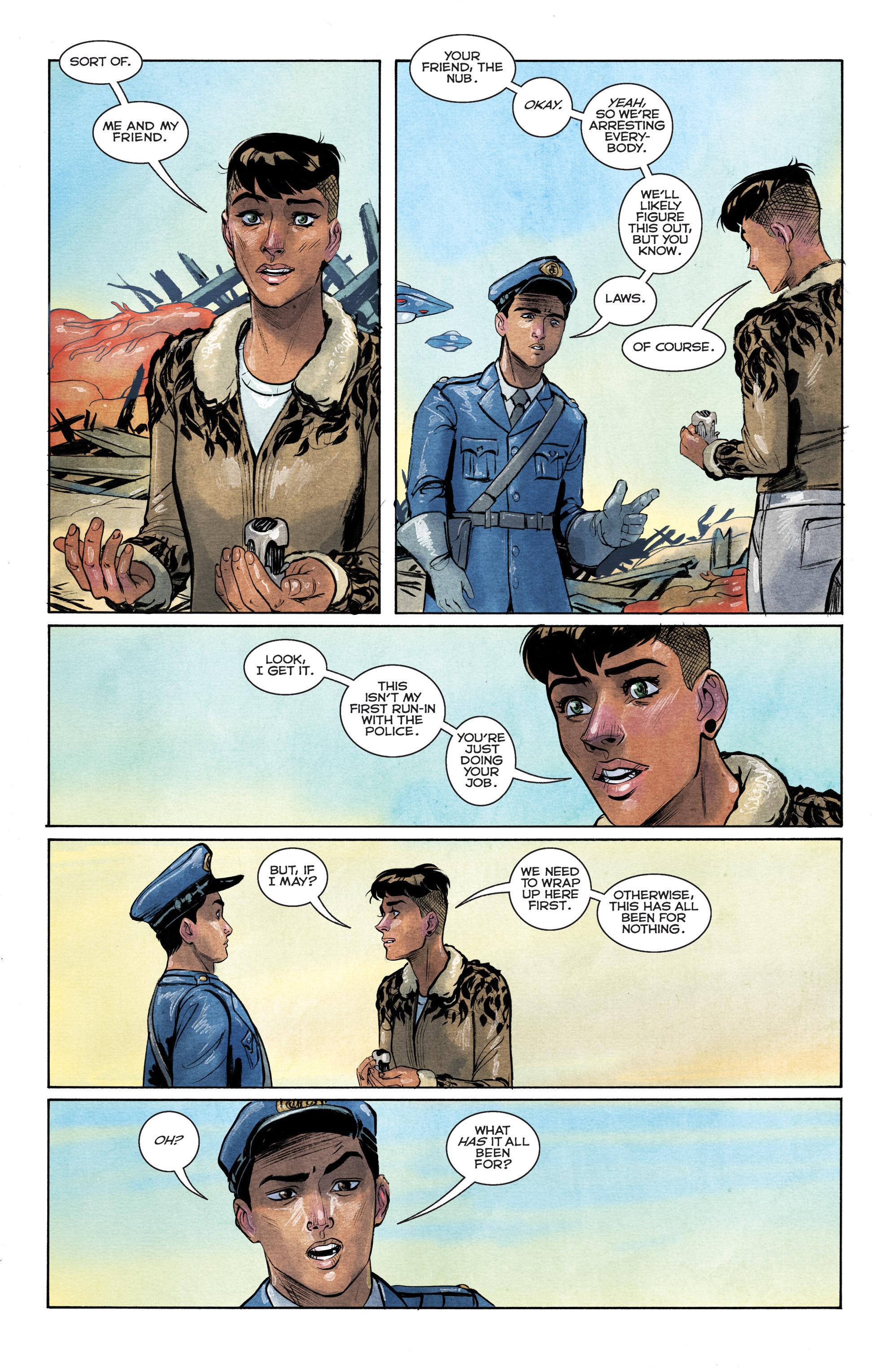 Read online Shutter comic -  Issue #28 - 16