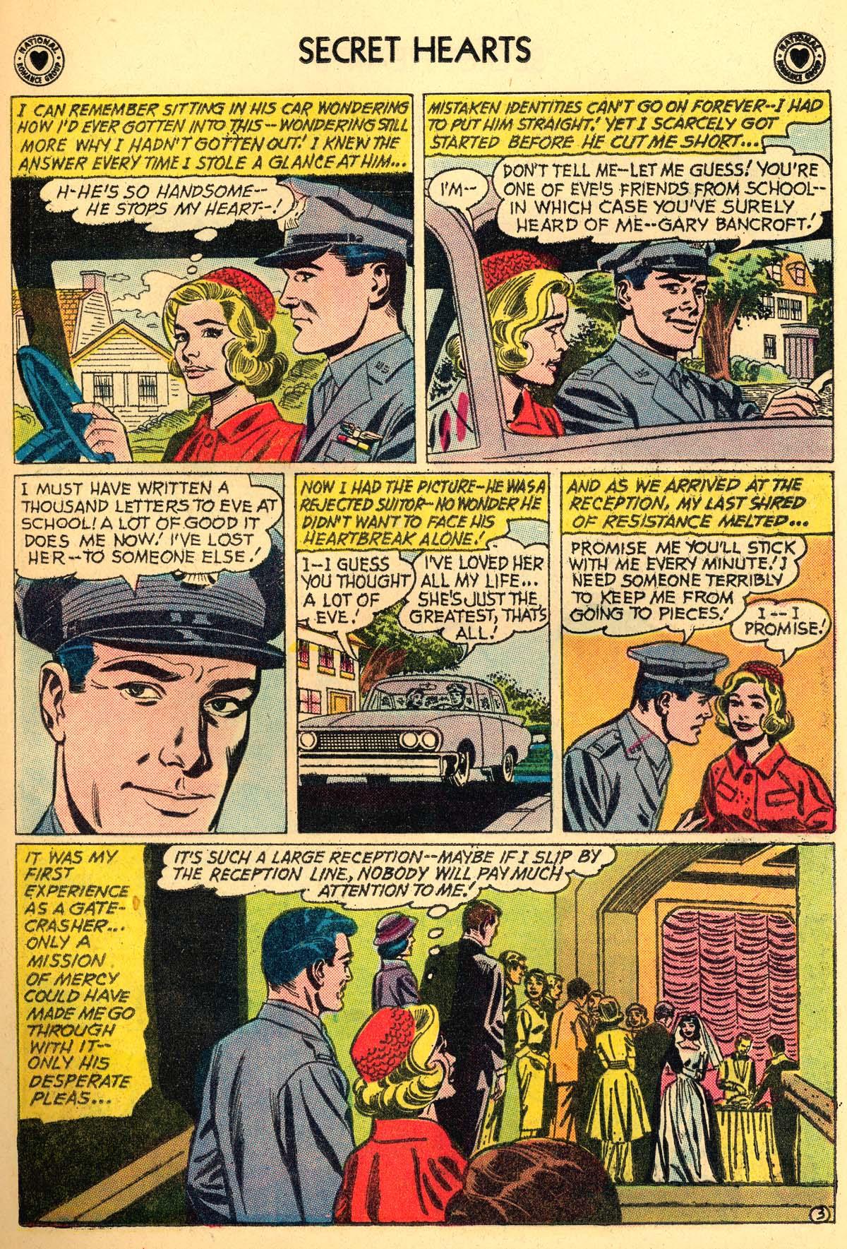Read online Secret Hearts comic -  Issue #66 - 21