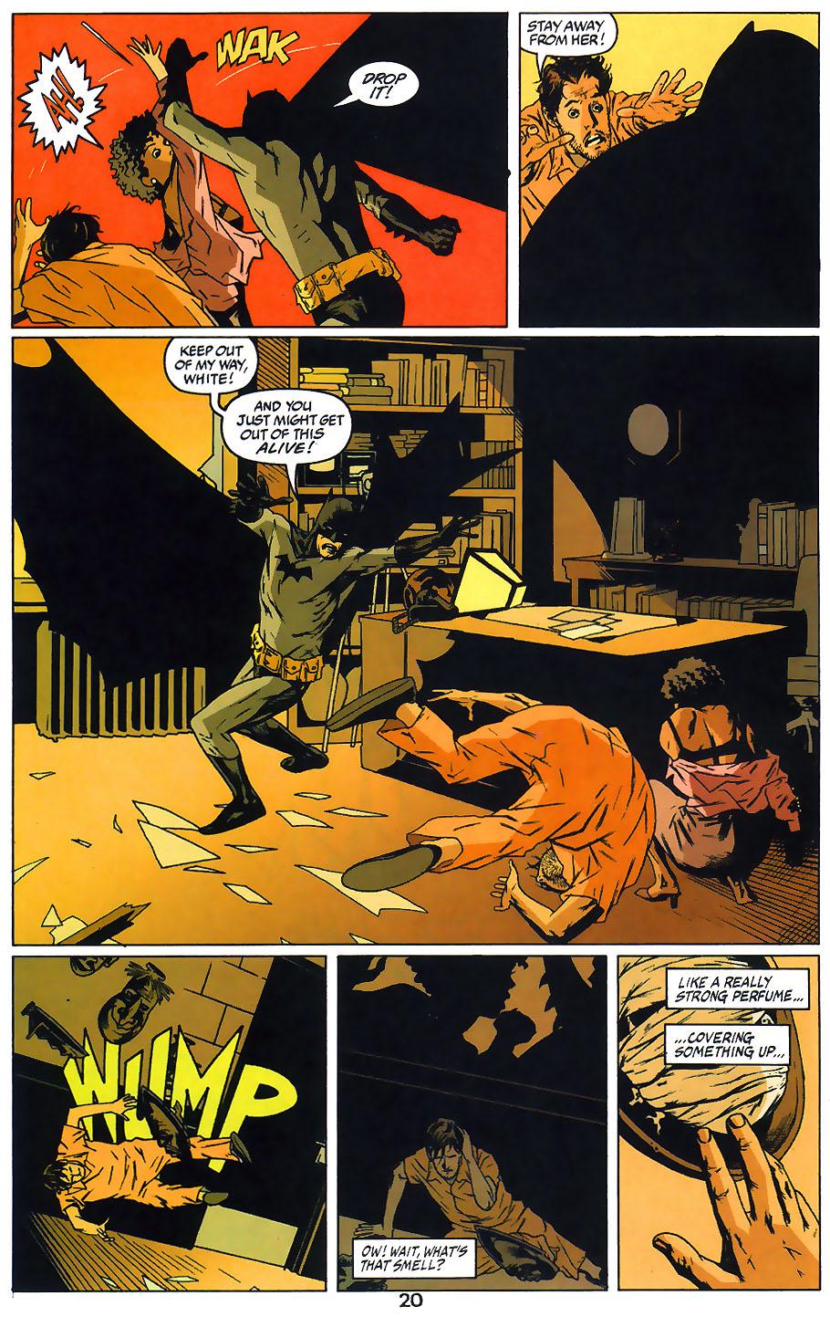 Read online Arkham Asylum: Living Hell comic -  Issue #1 - 22