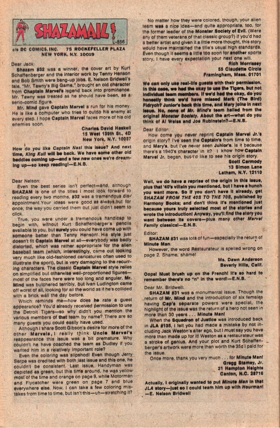 Read online Shazam! (1973) comic -  Issue #34 - 32