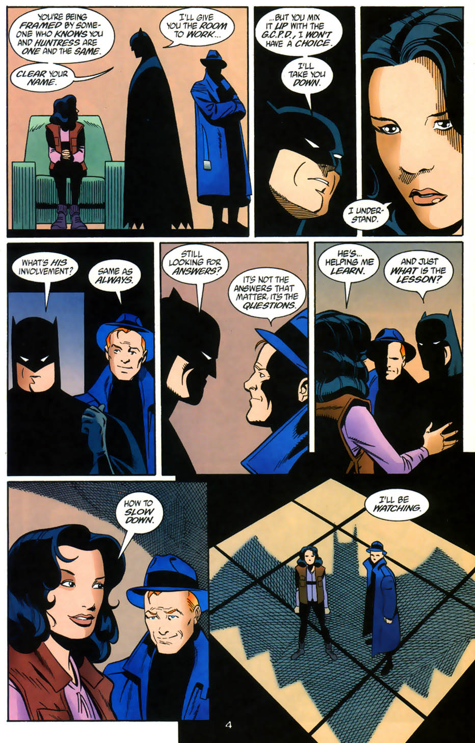 Read online Batman/Huntress: Cry for Blood comic -  Issue #5 - 5