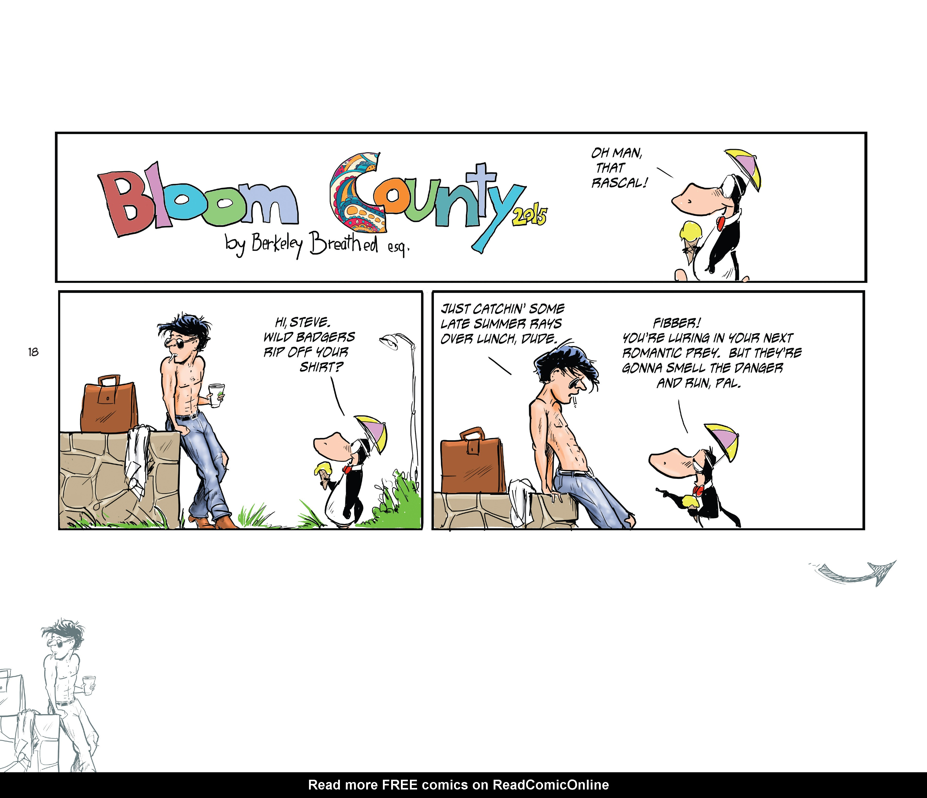 Read online Bloom County Episode XI: A New Hope comic -  Issue # Full - 20