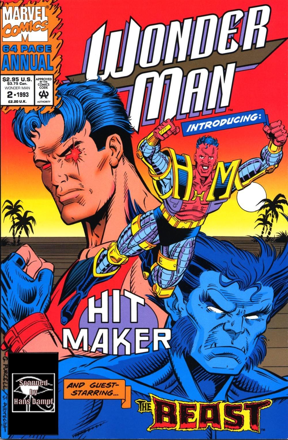 Read online Wonder Man (1991) comic -  Issue # _Annual 2 - 1