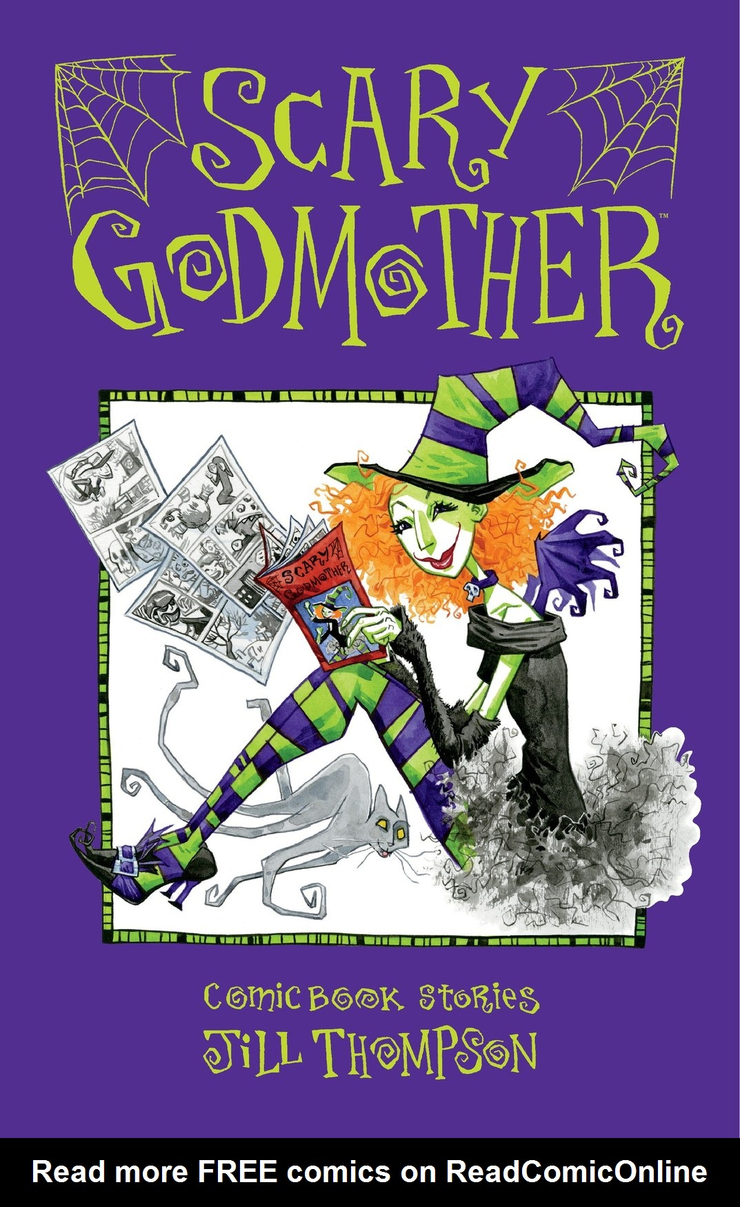 Read online Scary Godmother Comic Book Stories comic -  Issue # TPB - 1